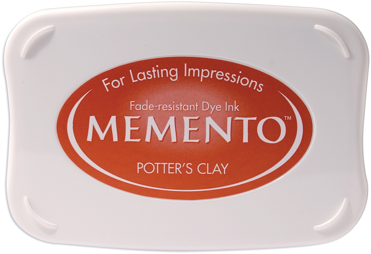 Memento Fade-resistant Dye Ink- potters clay