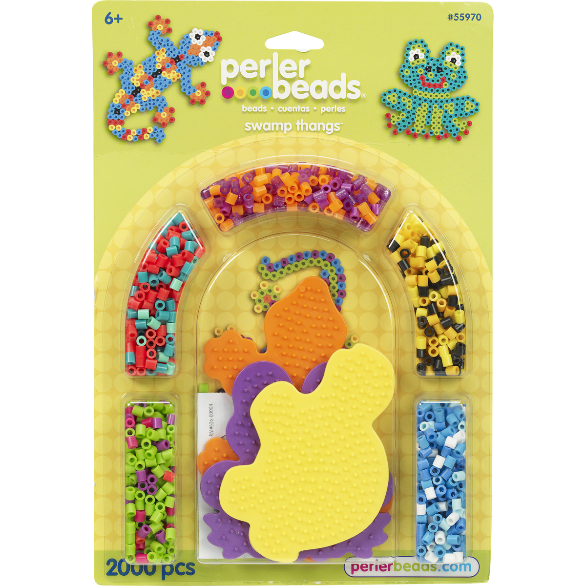 Perler Fused Bead Kit-Swamp Thangs