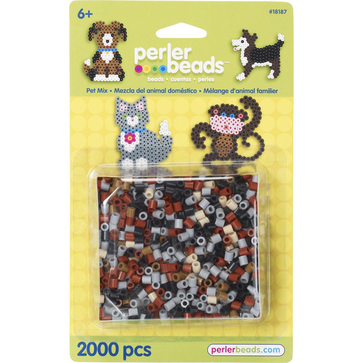 Perler Bead Mix 2,000/Pkg-Pet