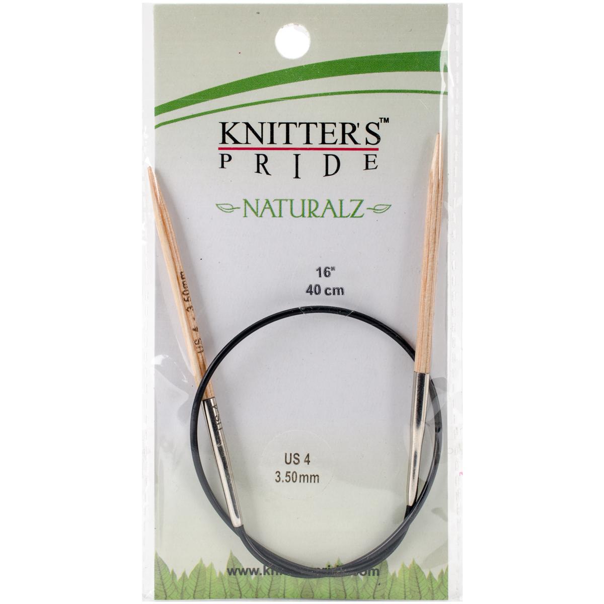 Naturalz Fixed Circular Needles 16