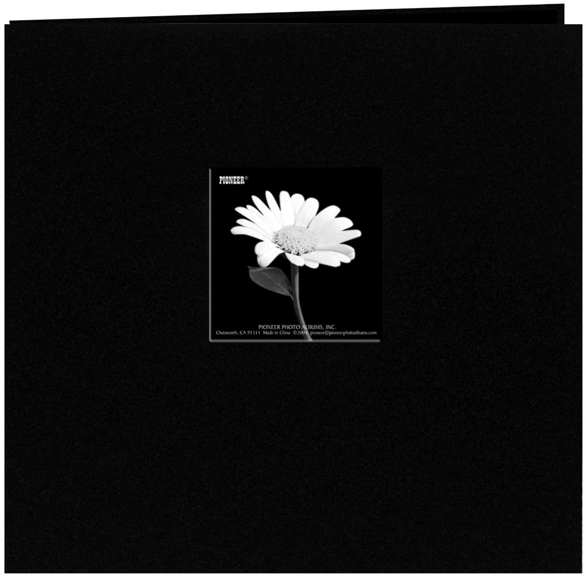 Cloth Cover Post Bound Album 12X12 Black