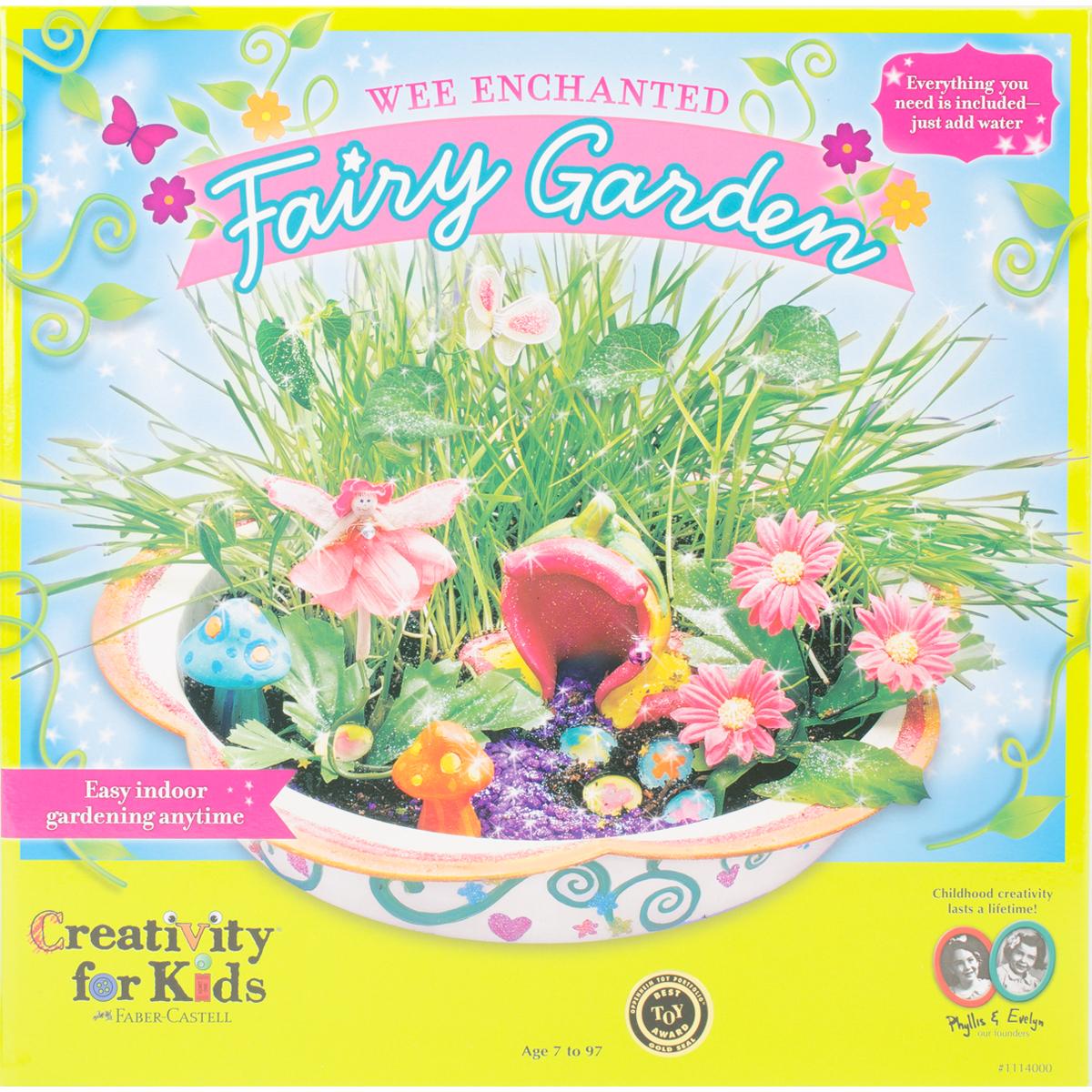 Wee Enchanted Fairy Garden Kit-