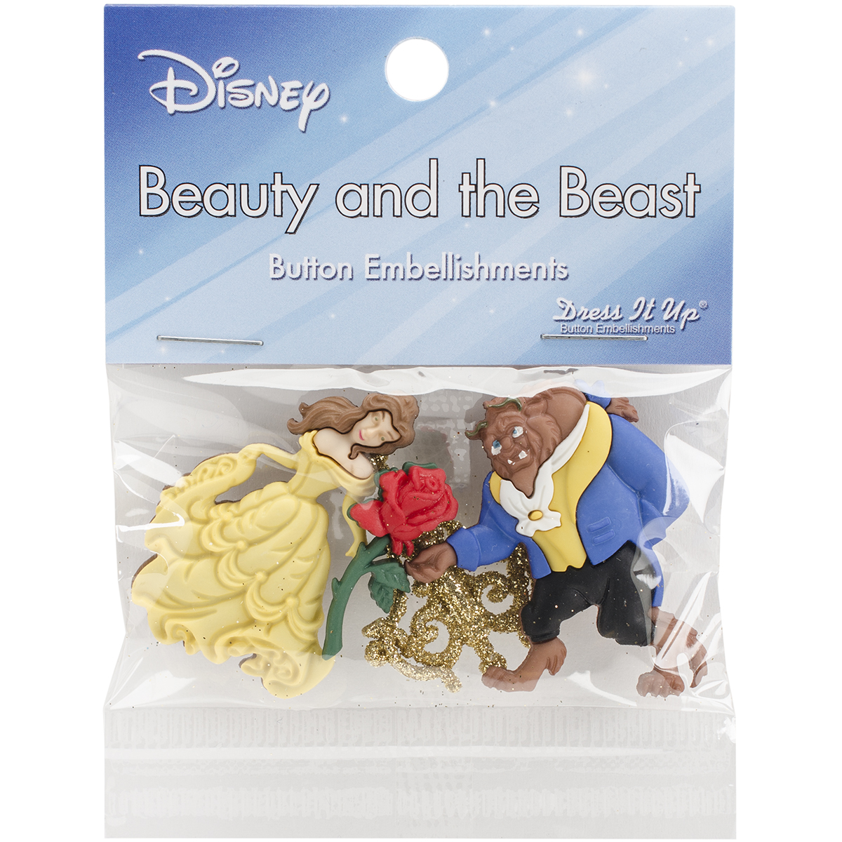 Beauty and the Beast Button