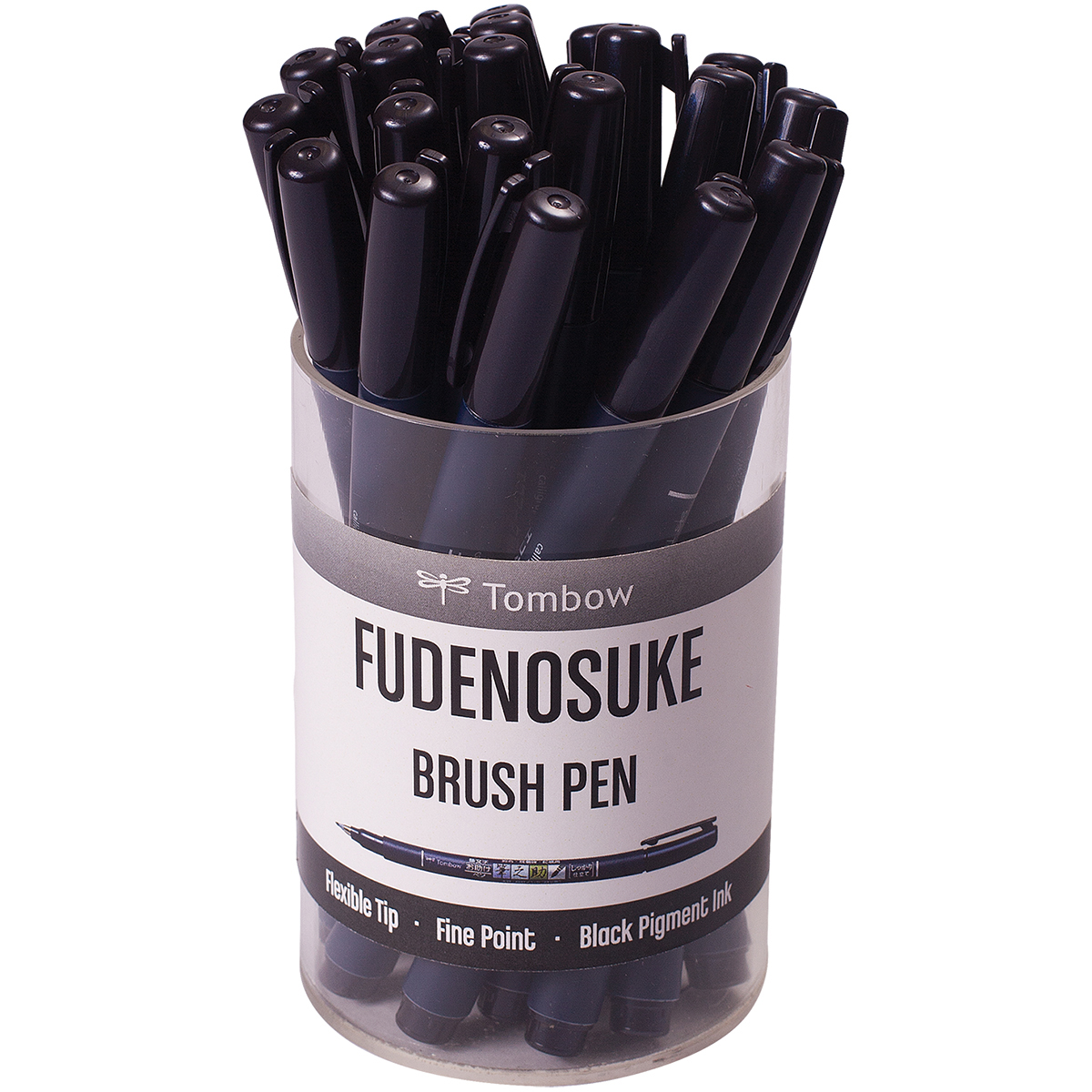 Fine Tip Brush Pen Tombow Fudenosuke
