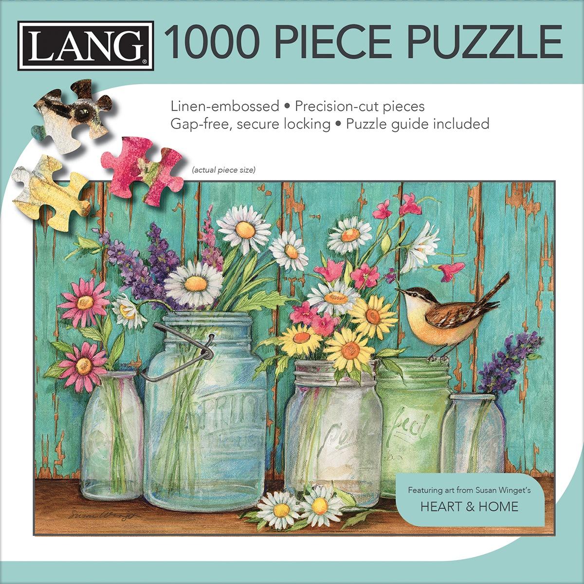 Jigsaw Puzzle 1000 Pieces - Mason Flowers