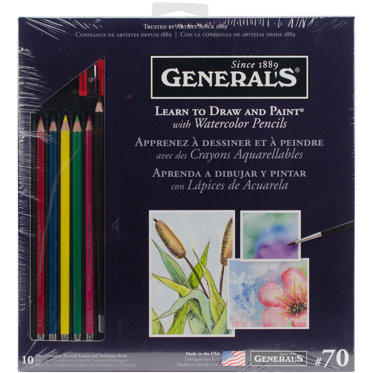 Learn To Draw And Paint With Watercolor Pencils-