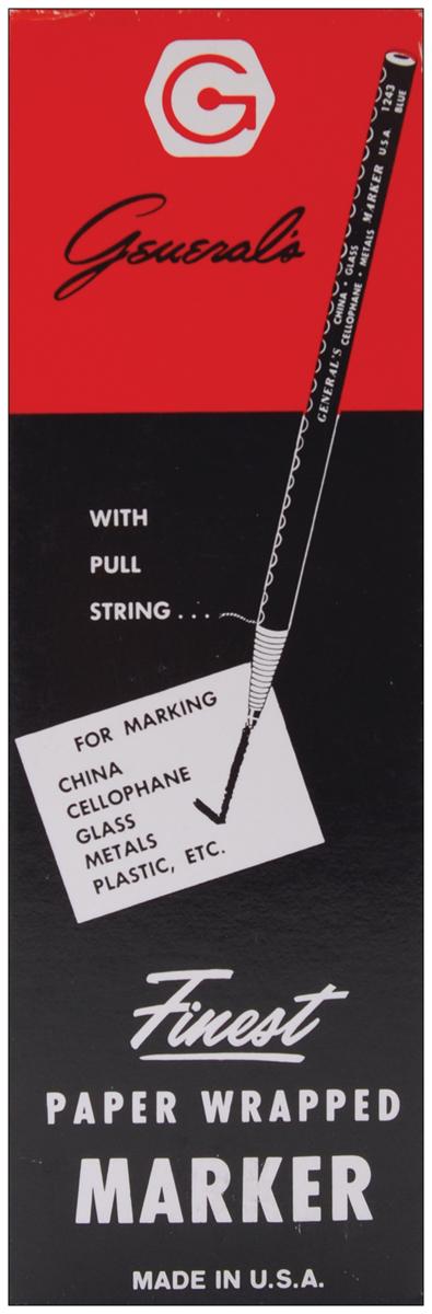China Marker Multi-Purpose Grease Pencil-Black