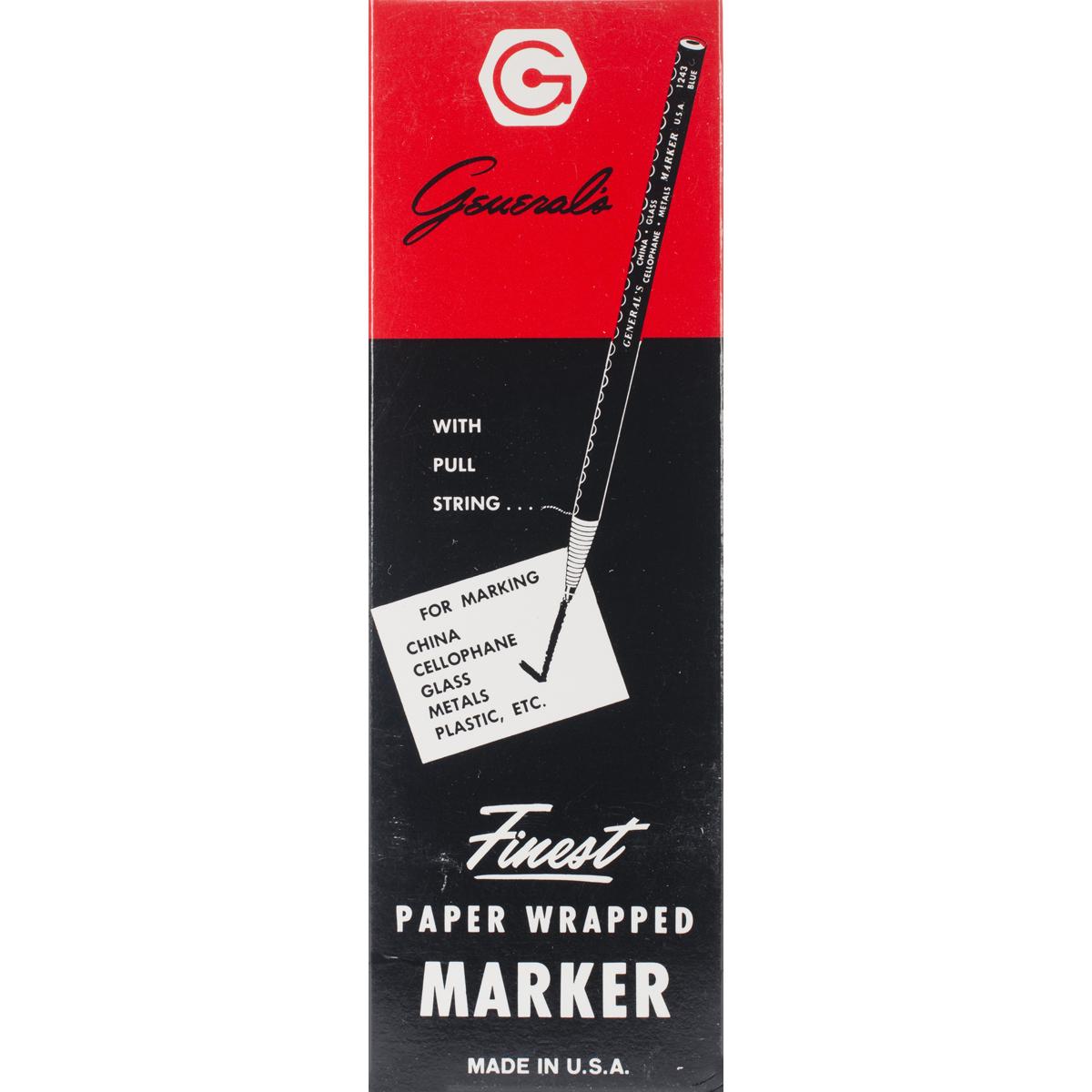 China Marker Multi-Purpose Grease Pencil-White