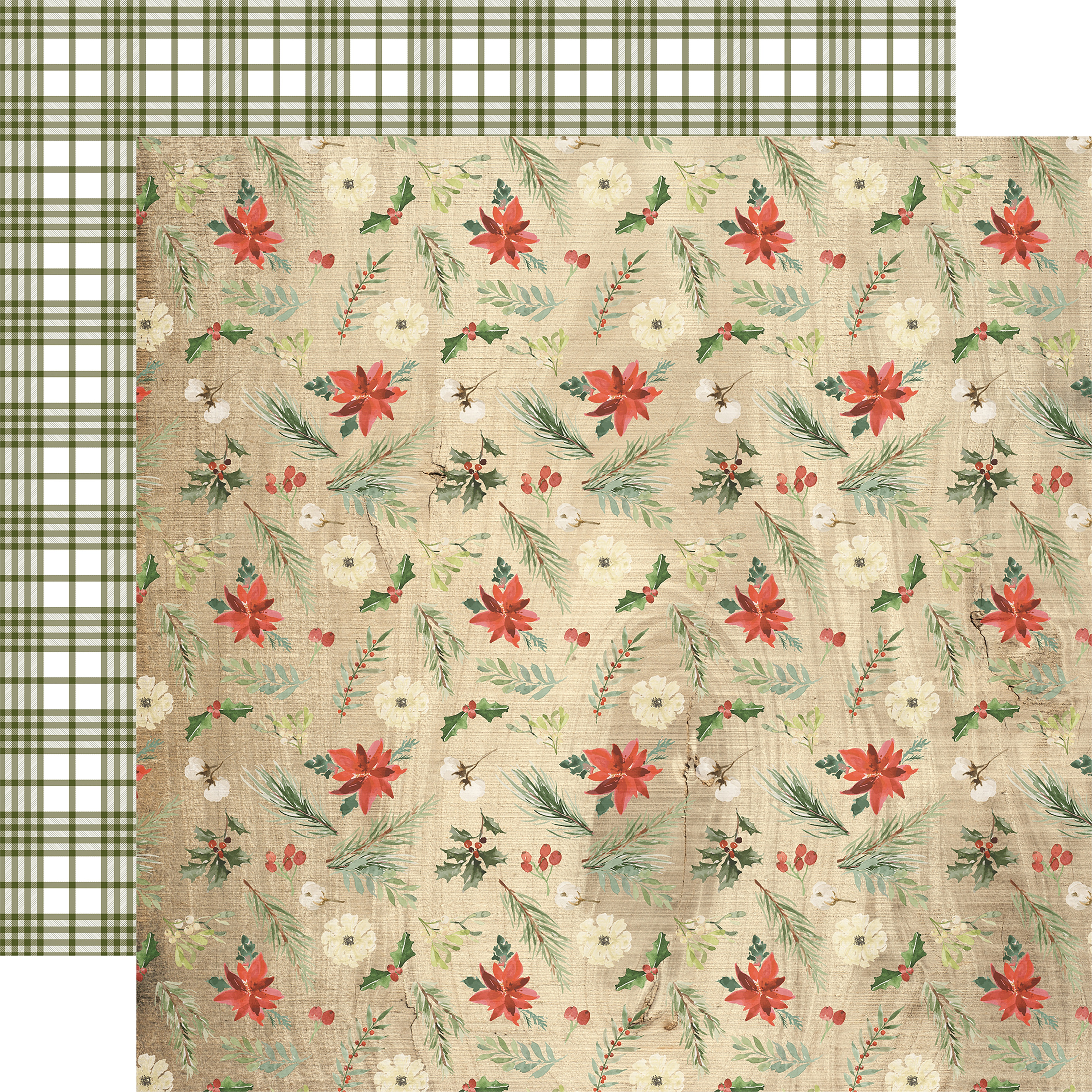 PPR - CHRISTMAS WINTER FLORAL