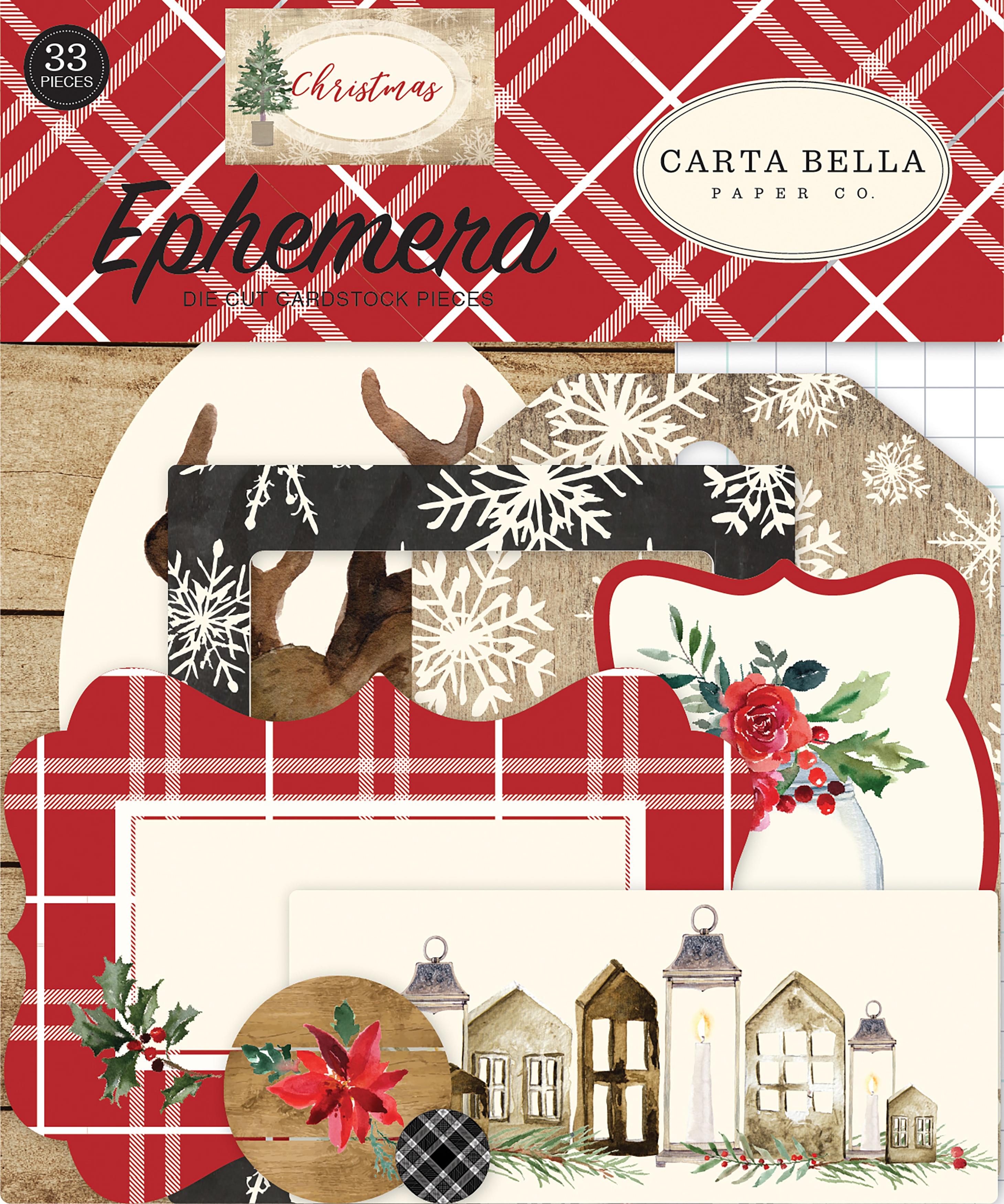 Christmas Ephemera Cardstock Die-Cuts 33/Pkg-Icons
