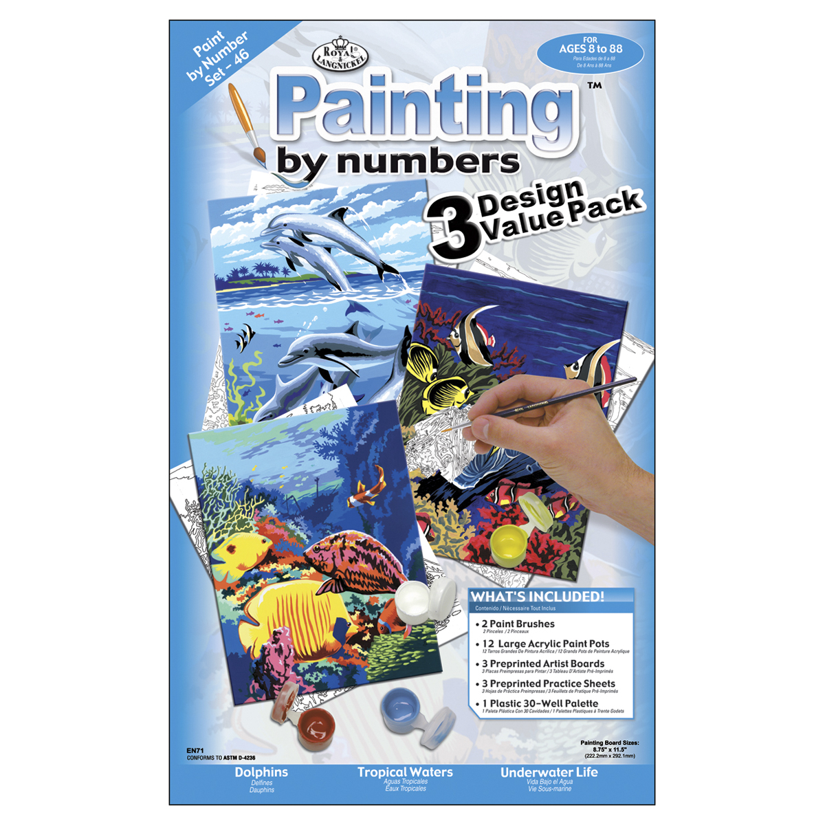 sealife paint kit