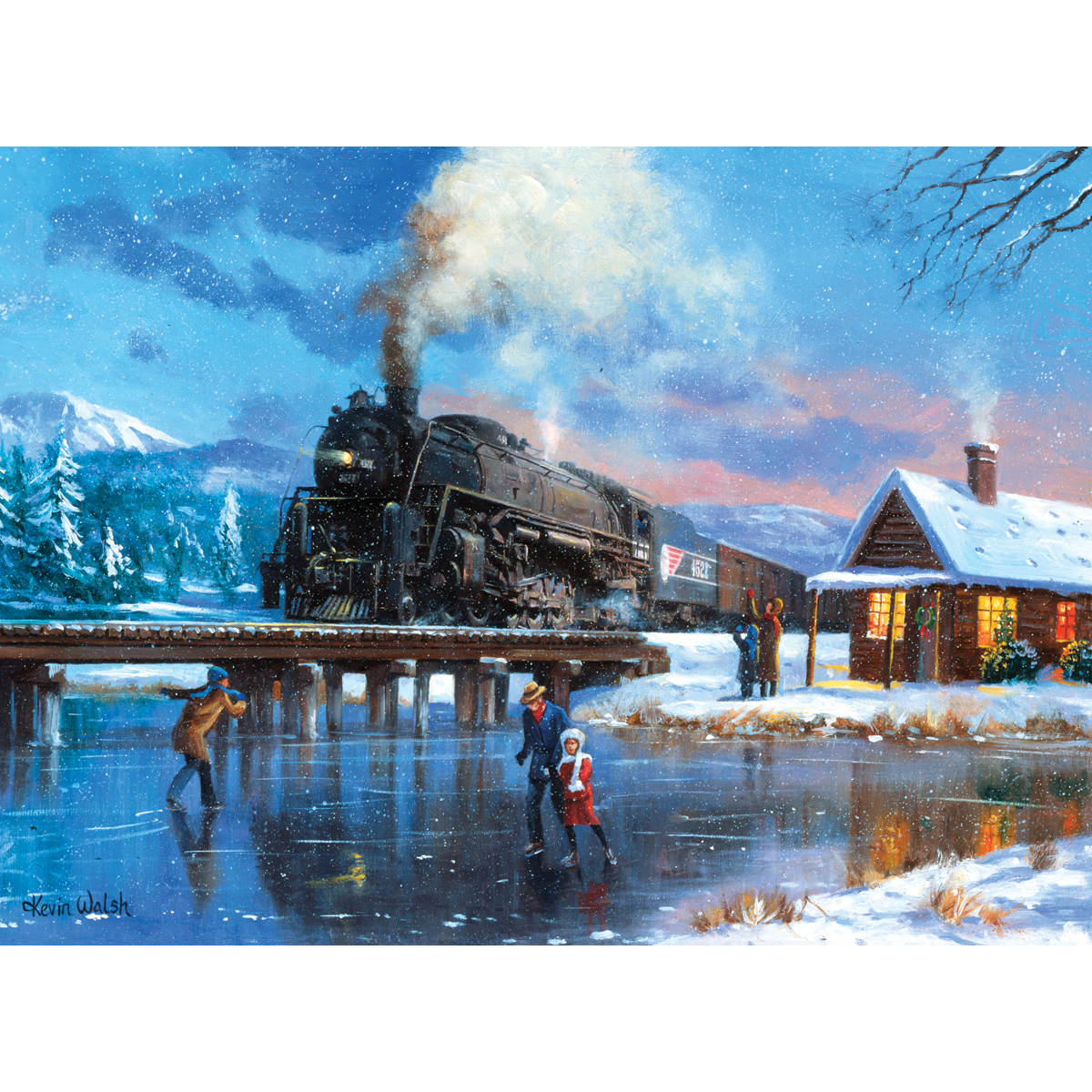 Paint By Number Kit 15.375X11.25-Winter Magic