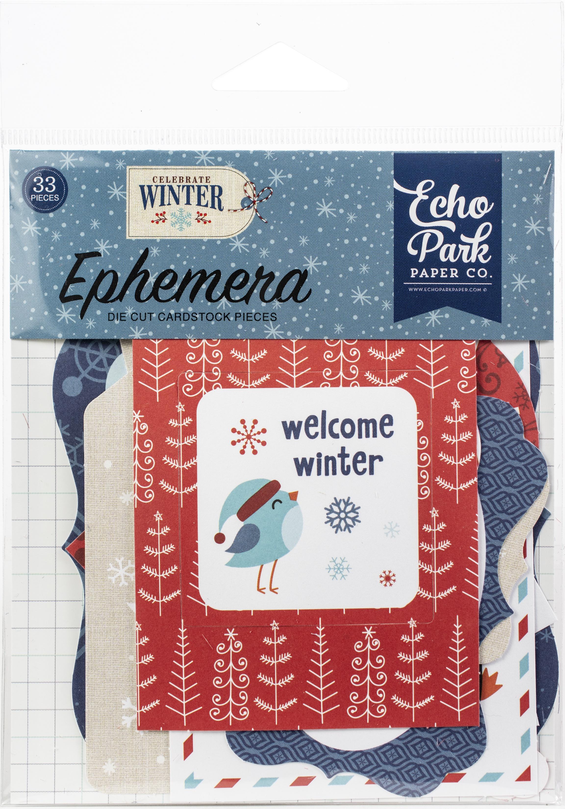 Echo Park - Celebrate Winter - Ephemera