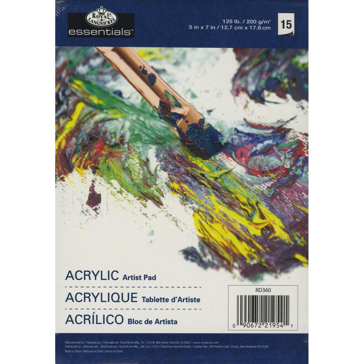 ACRYLIC PAPER PAD