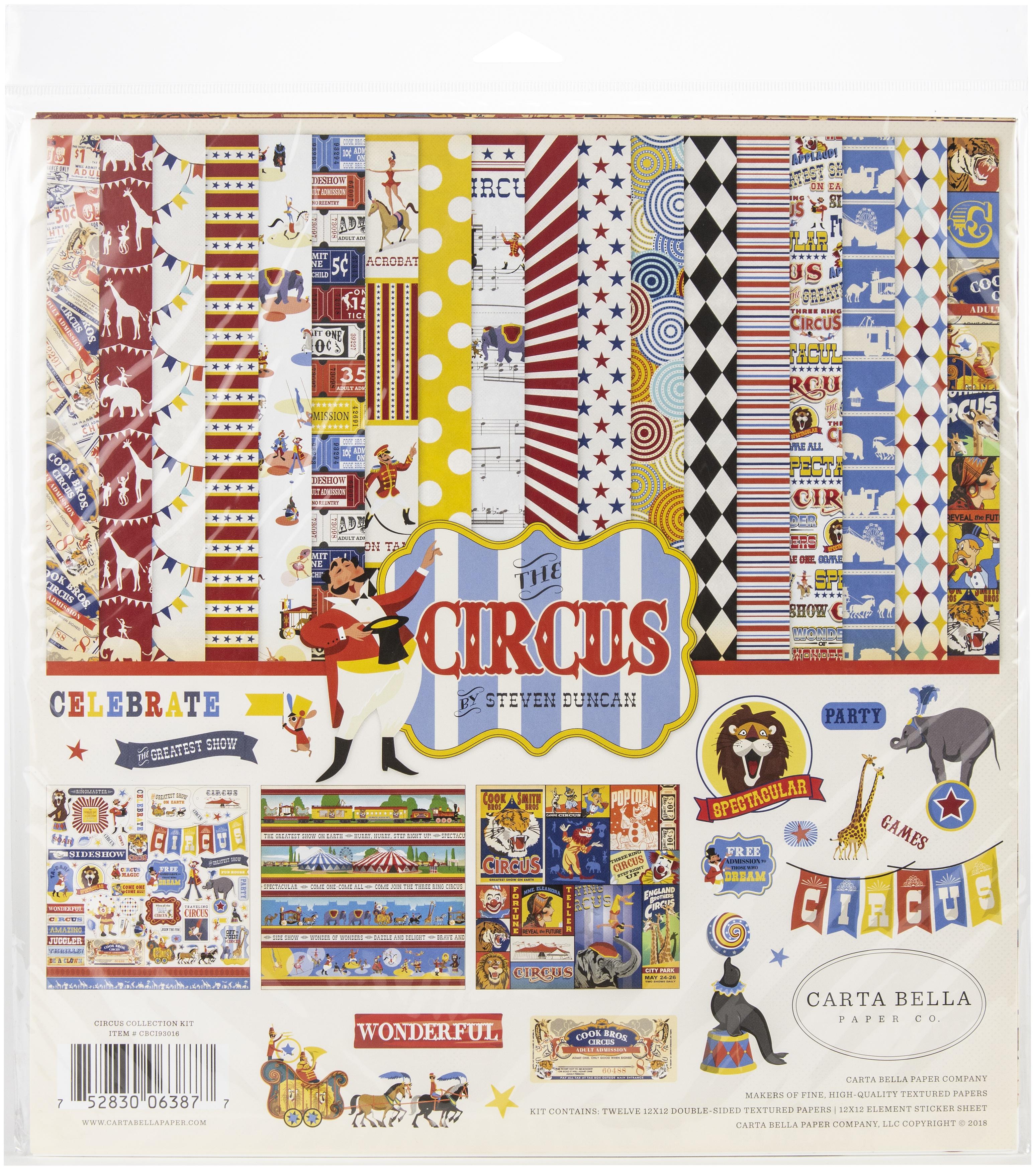 Carta Bella - Circus - 12x12 Collection Kit