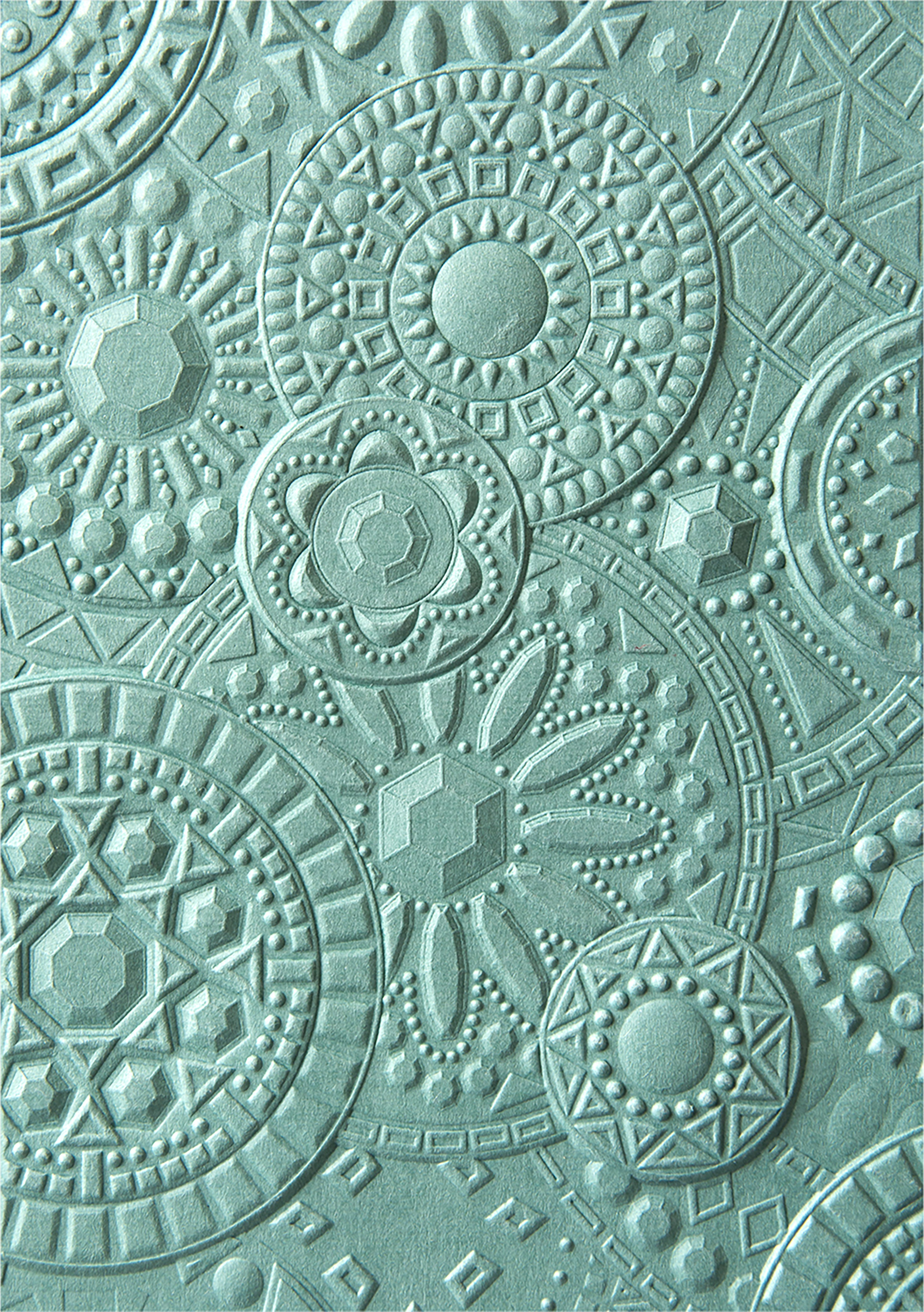 Sizzix 3D Textured Impressions By Courtney Chilson-Mosaic Gems