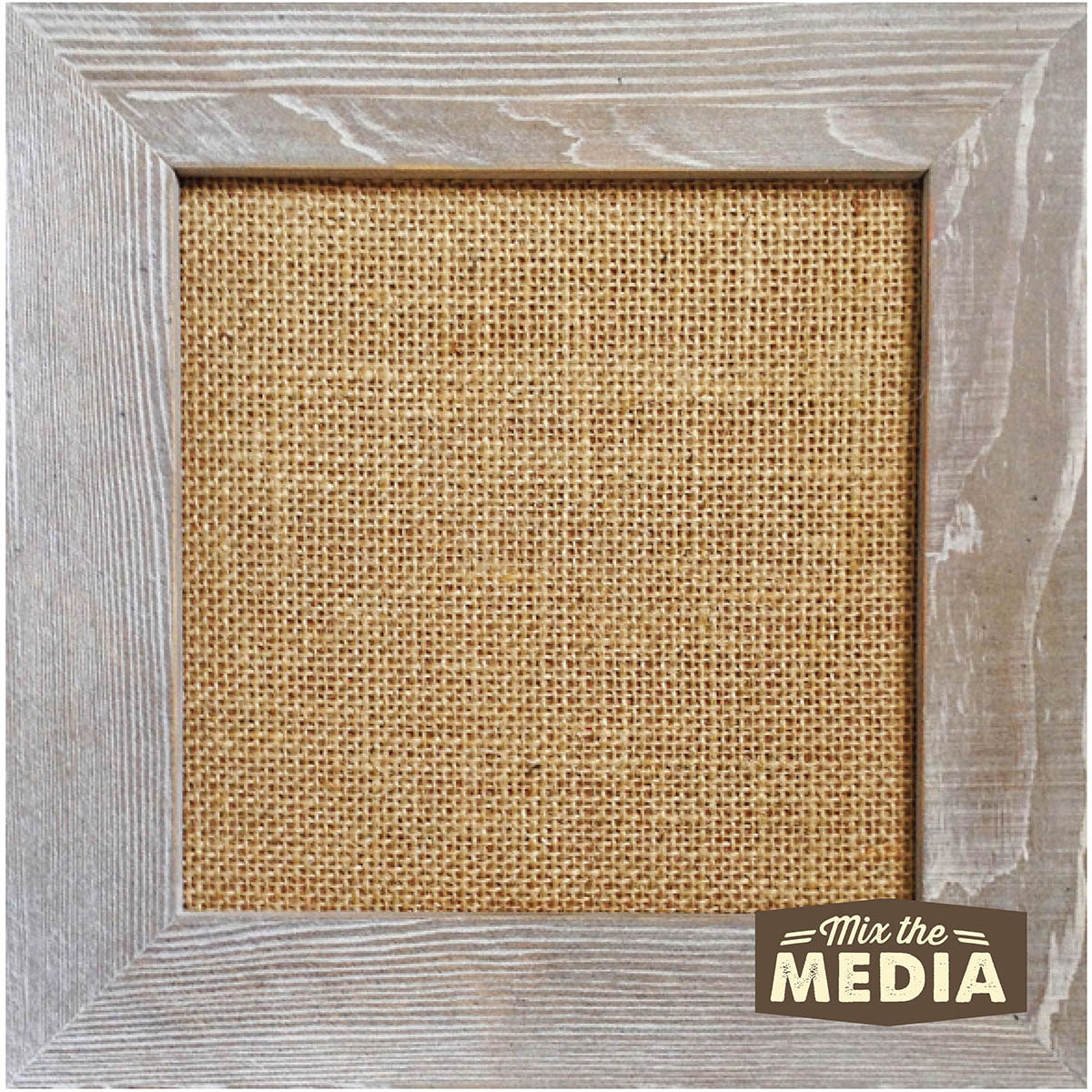 10x10 Burlap Frame