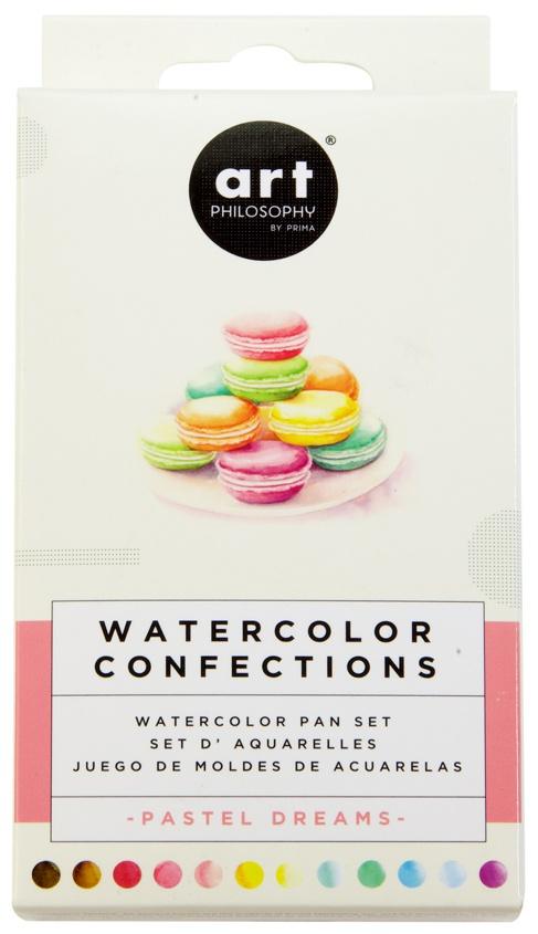 Prima Watercolor Confections Pastel Dreams