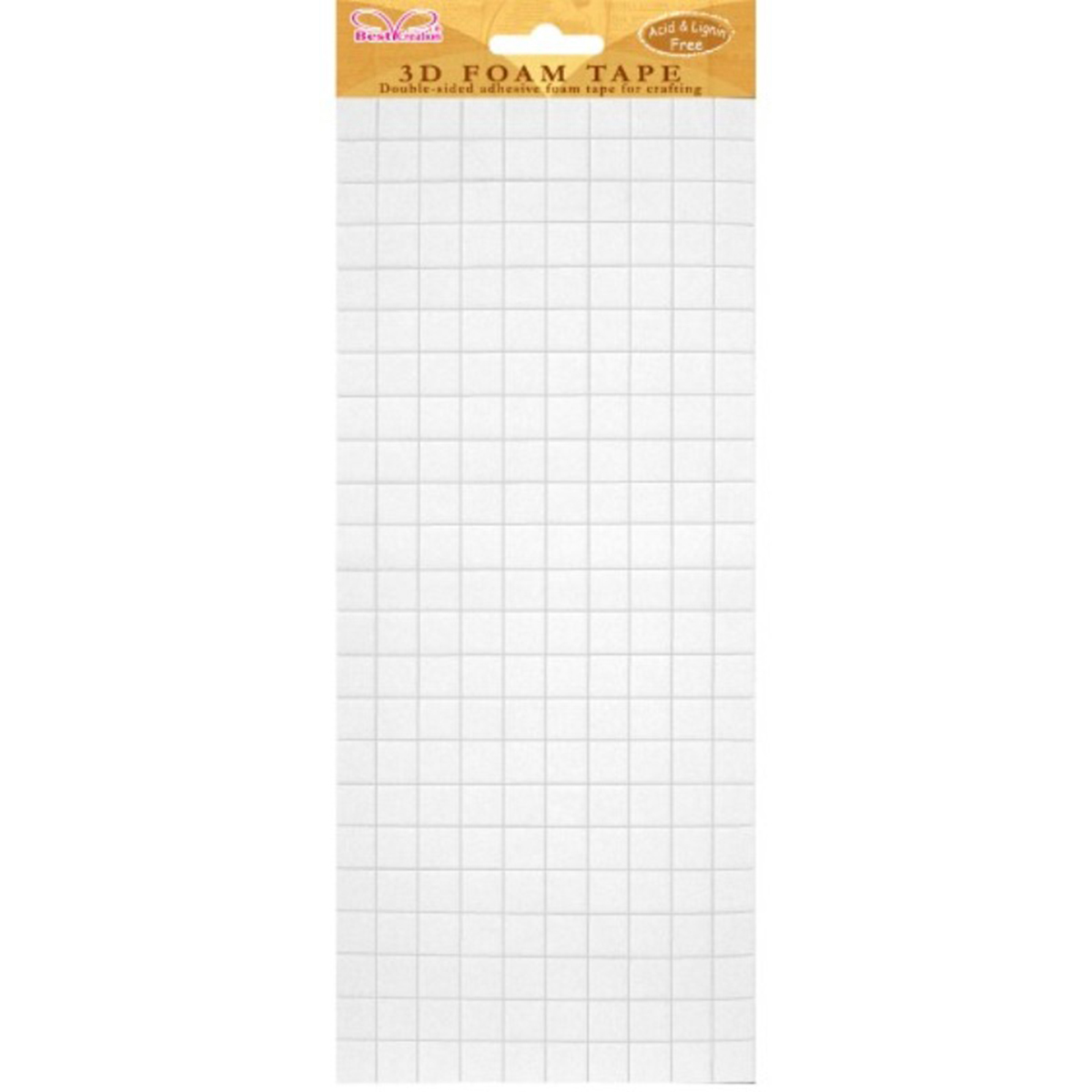 Best Creation Double-Sided Foam Tape-Big Squares