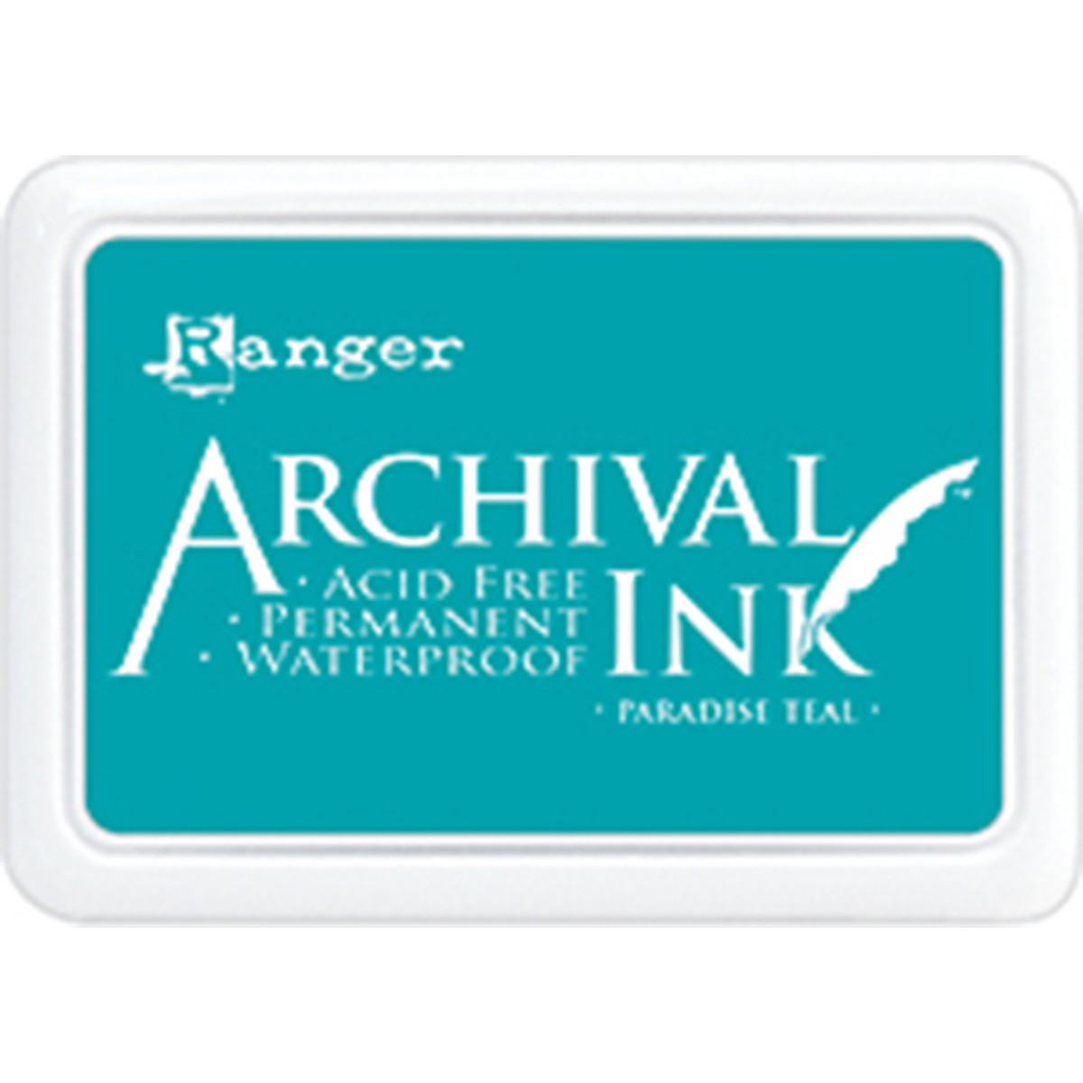 Ranger Archival Ink Pad #0-Paradise Teal