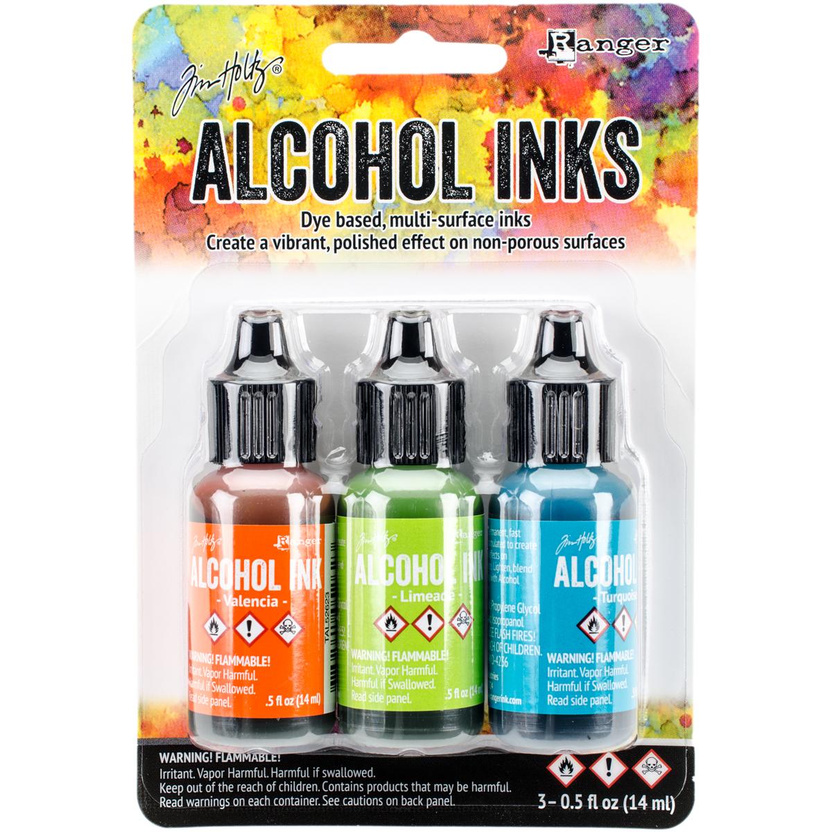 Tim Holtz Alcohol Inks: Spring Break