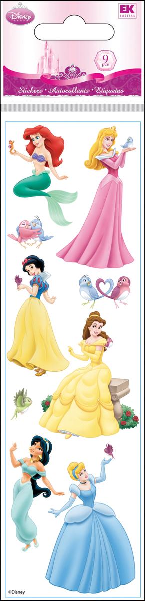 EK Success Disney Slims Dimensional Stickers - Princess