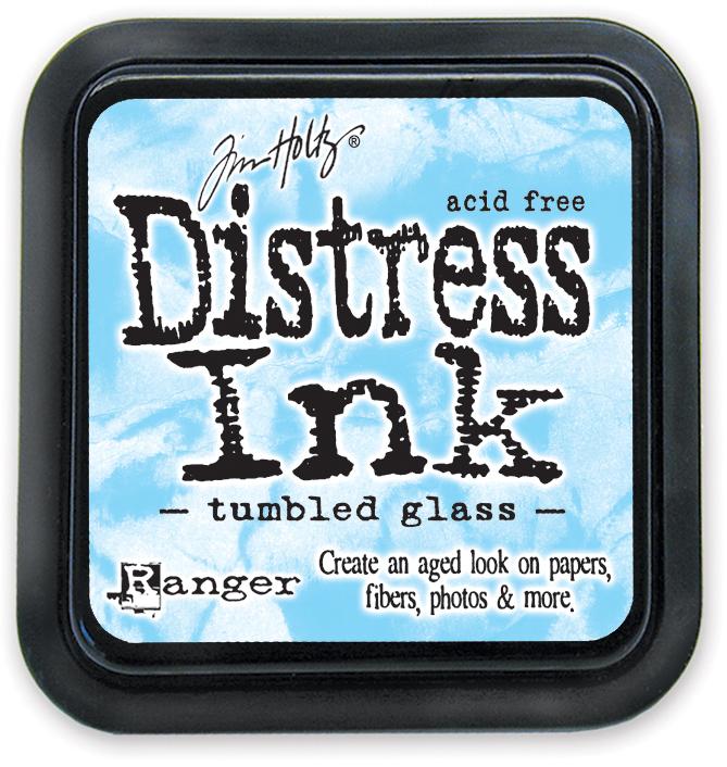 Tim Holtz - Distress Ink Pad - Tumbled Glass