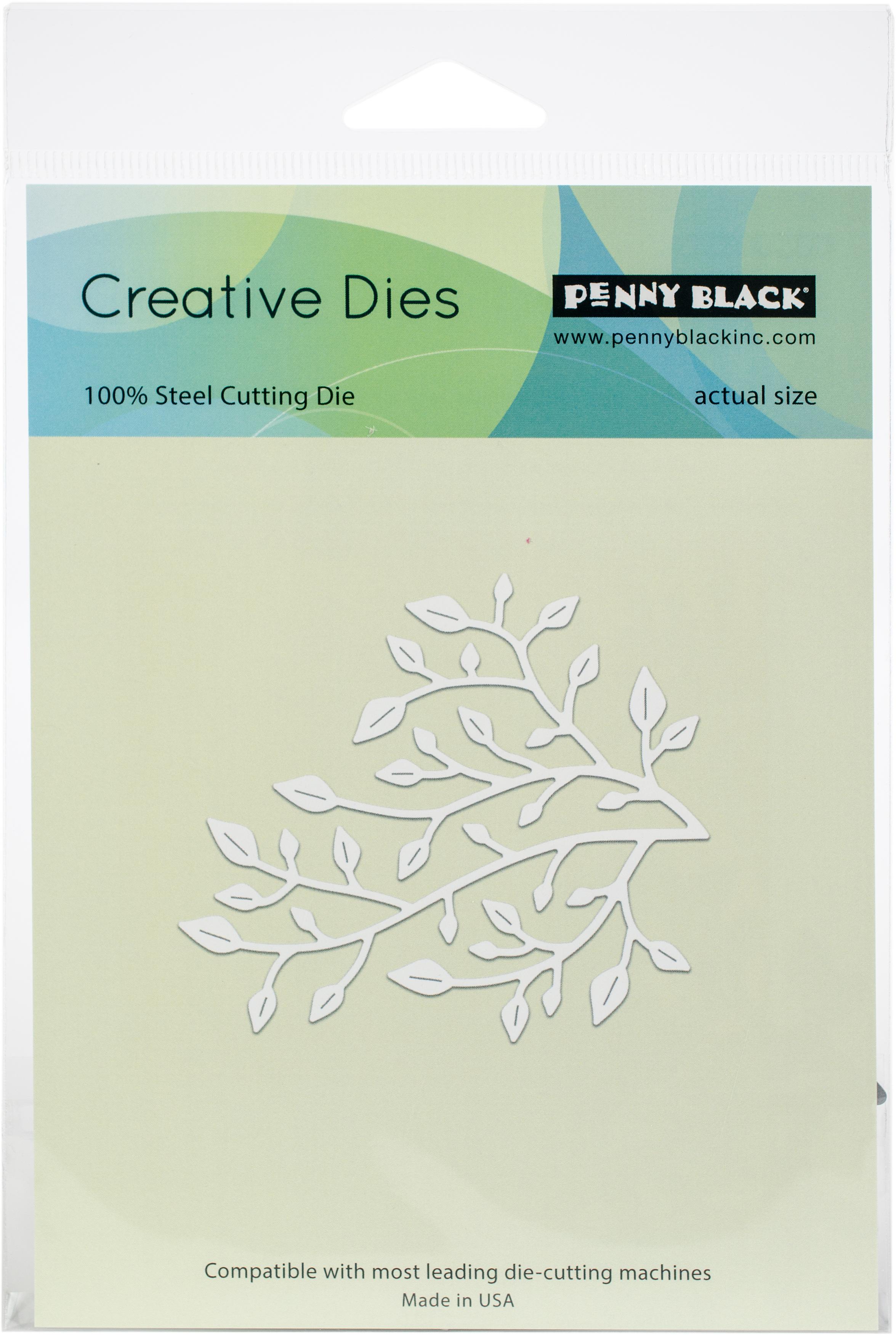 Penny Black Creative Dies-Little Branch 3X2.75
