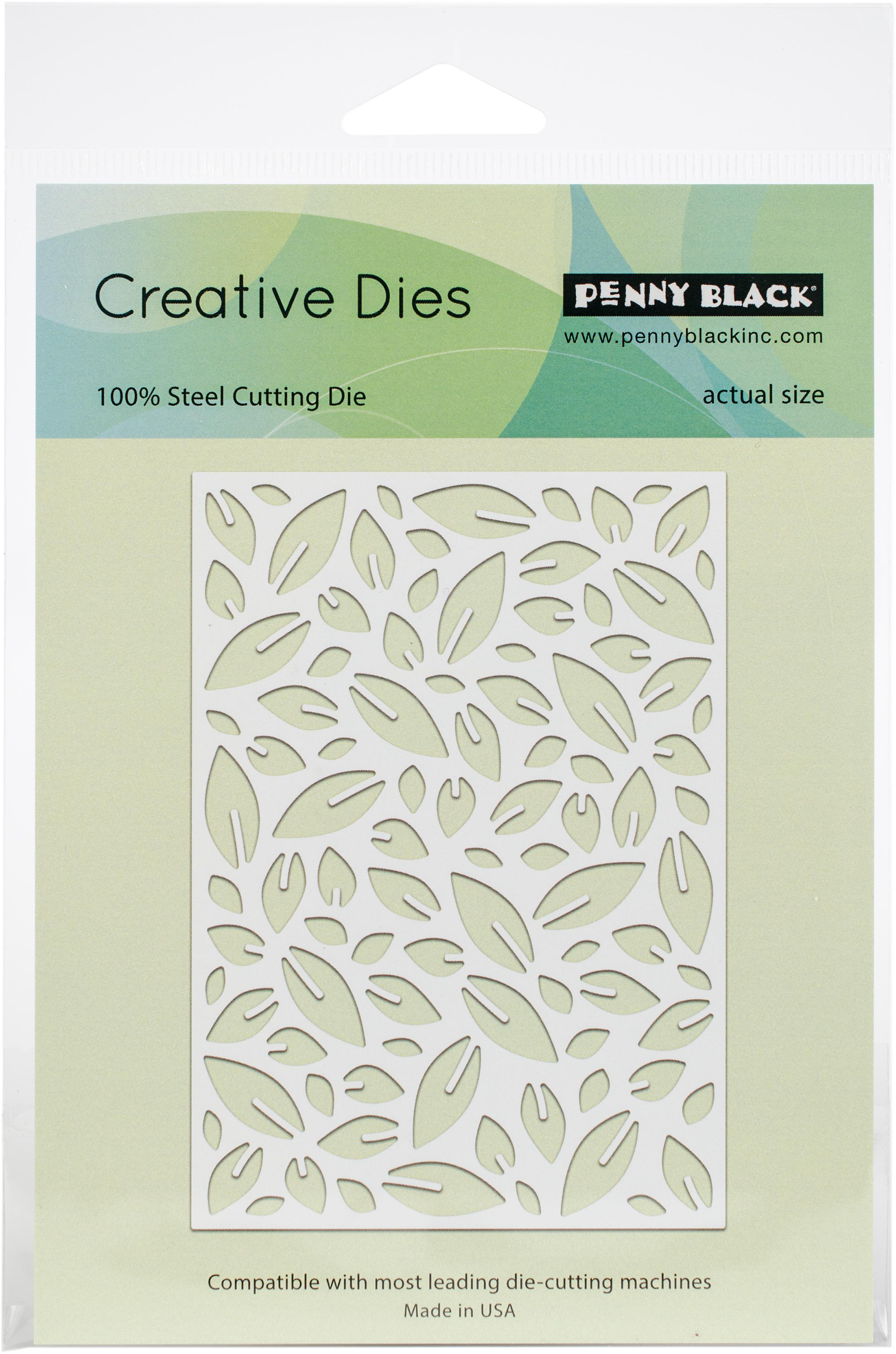 Penny Black Creative Dies-Leaf Pattern