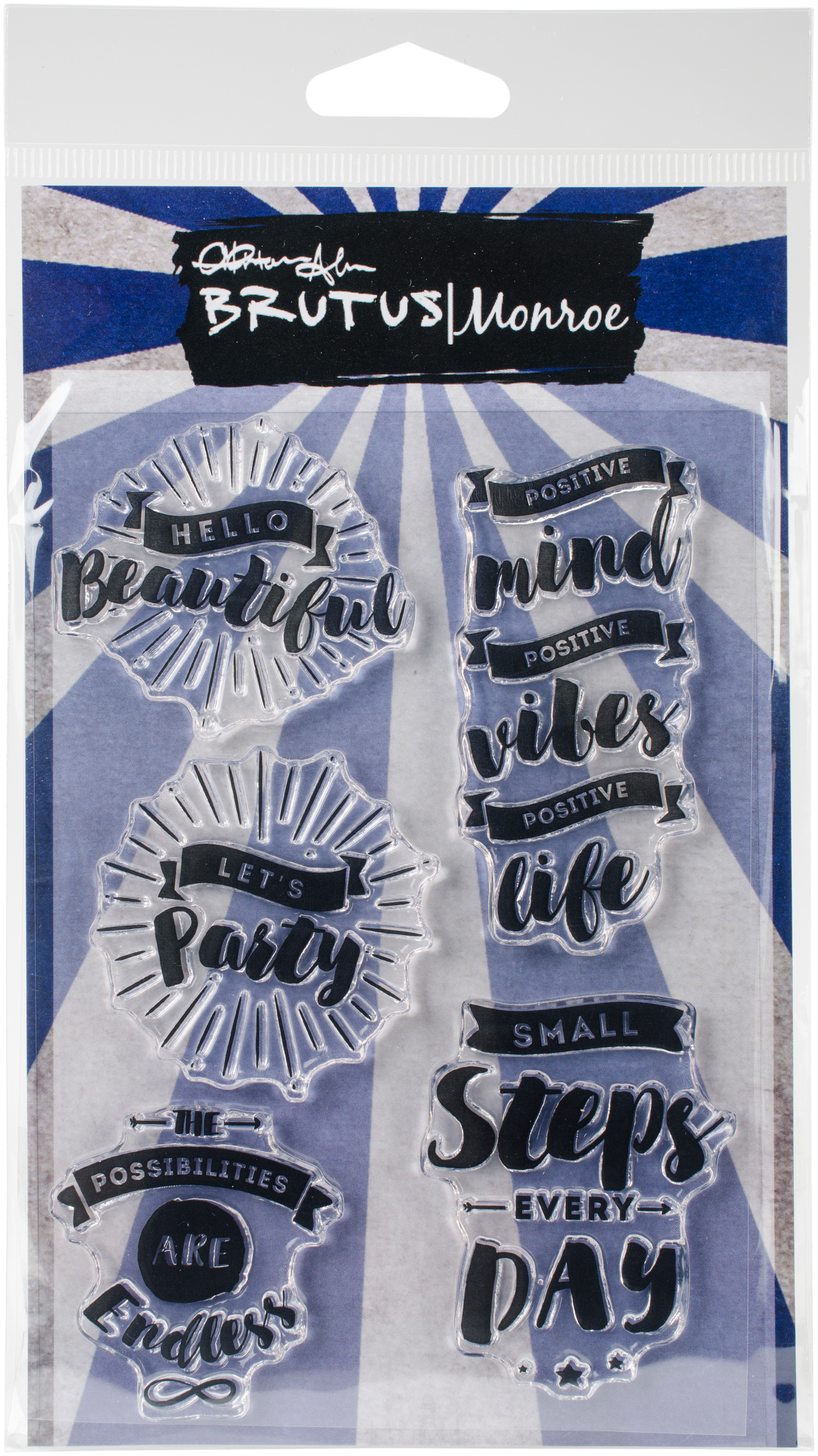 ^Brutus Monroe  - Hello Beautiful - Stamp
