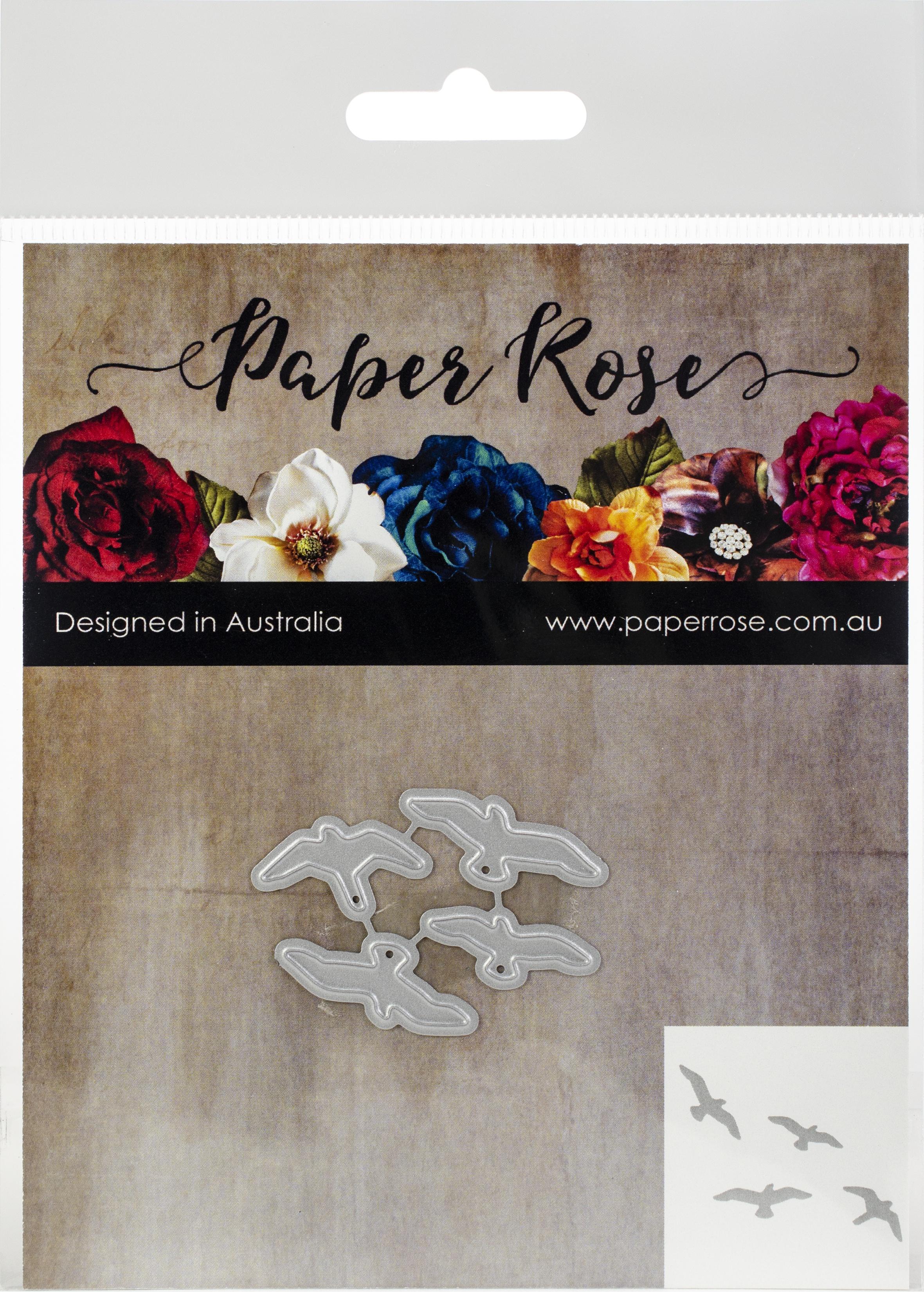 Paper Rose Dies-Flying Birds