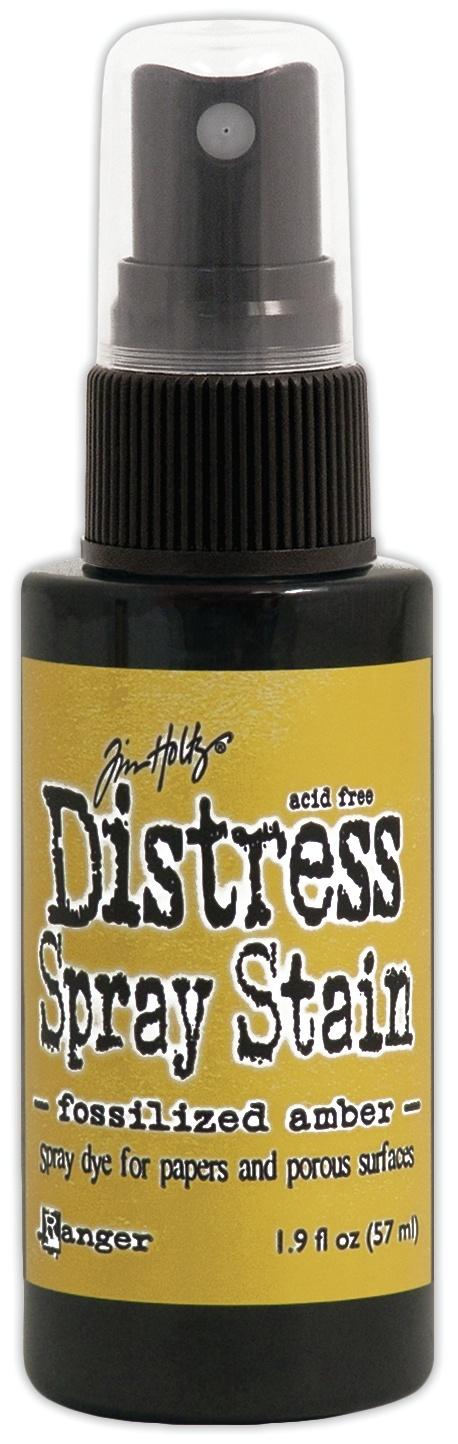 Tim Holtz Distress Spray Stain 1.9oz-Fossilized Amber