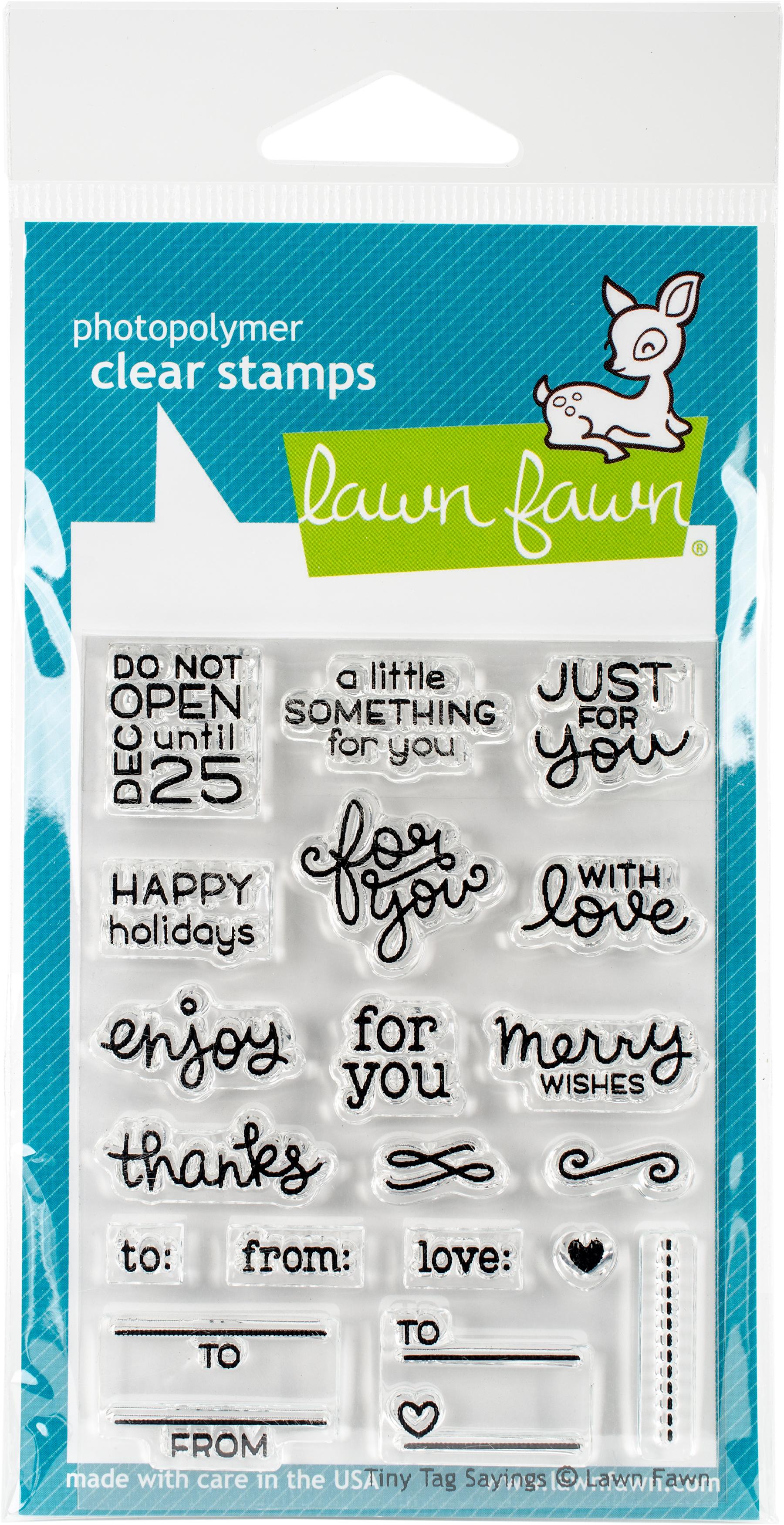 Tiny Tag Sayings Stamp