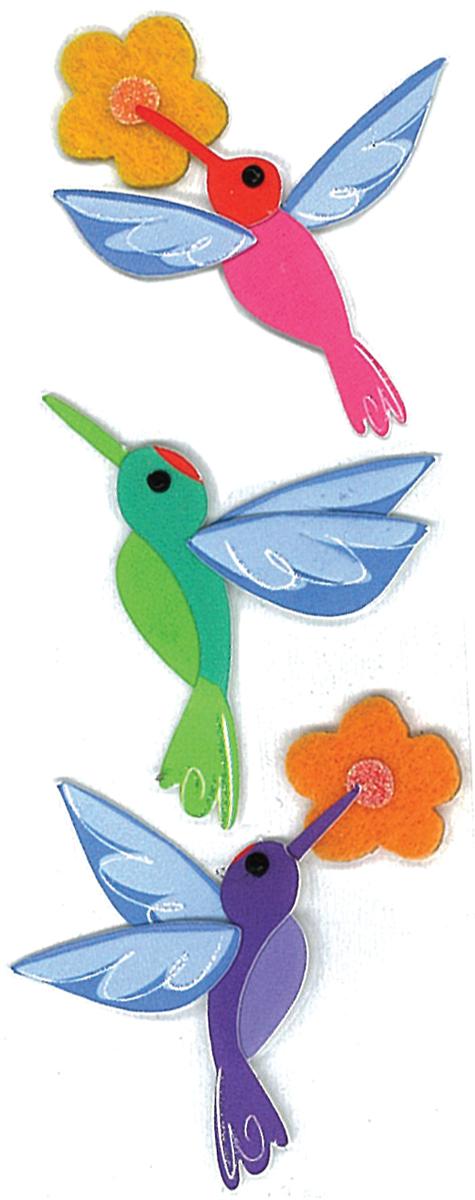 HUMMINGBIRDS-JOLEES BTQ EMBELSHMT