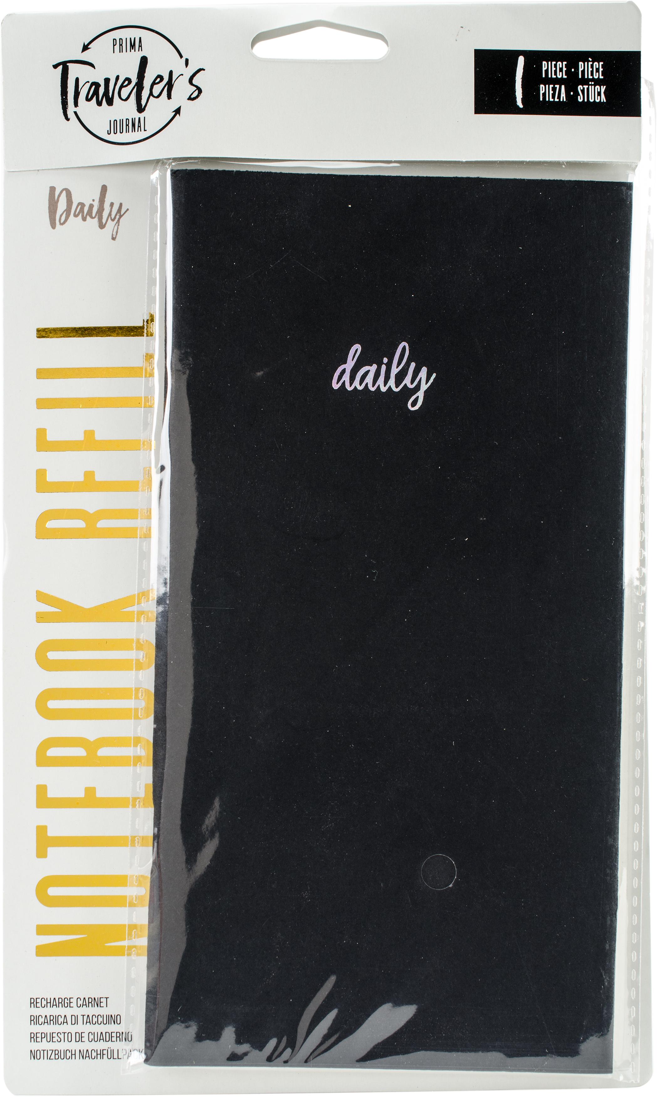 Prima Traveler's Journal Notebook Refill Daily