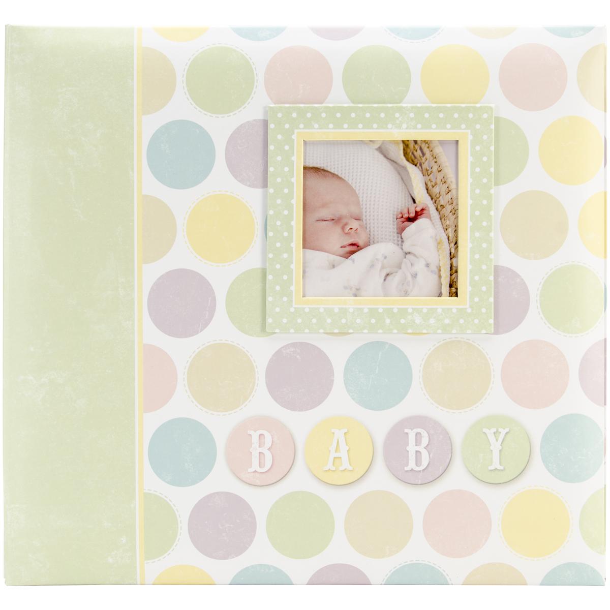 Baby Circles Post Bound Album