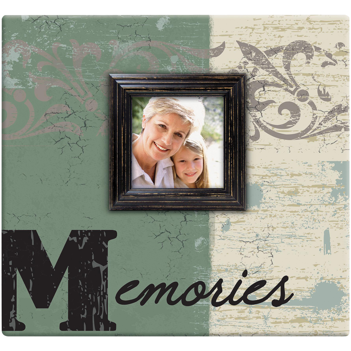 MBI Memories Post Bound Album W/Window 12X12-