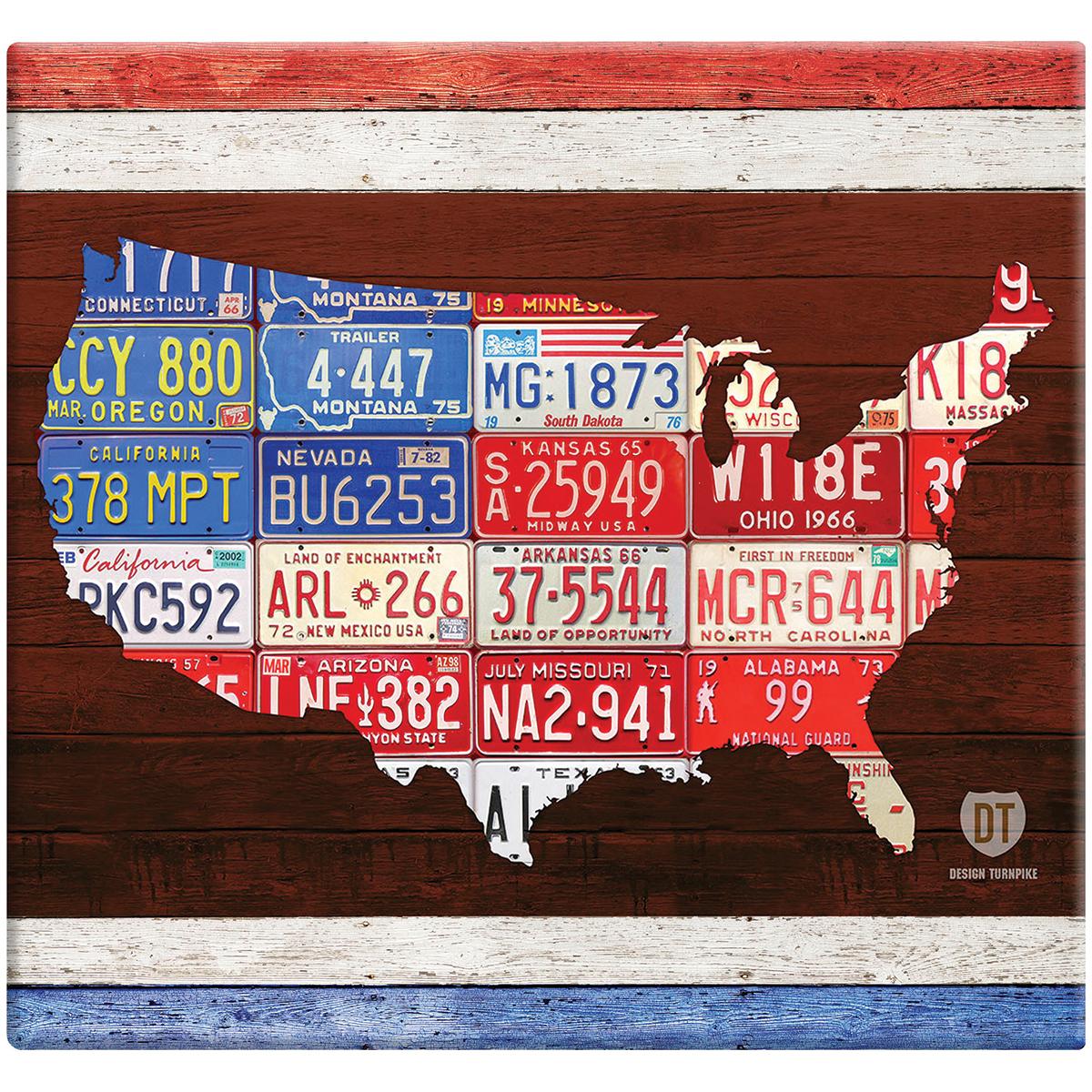 MBI American License Plate Post Bound Album 12X12