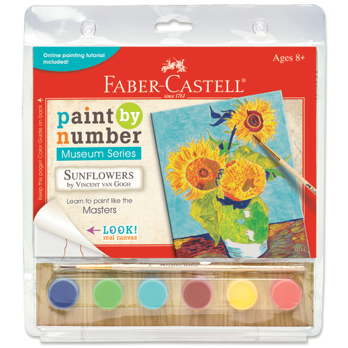 Museum Series Paint By Number Kit 6X8-Sunflowers