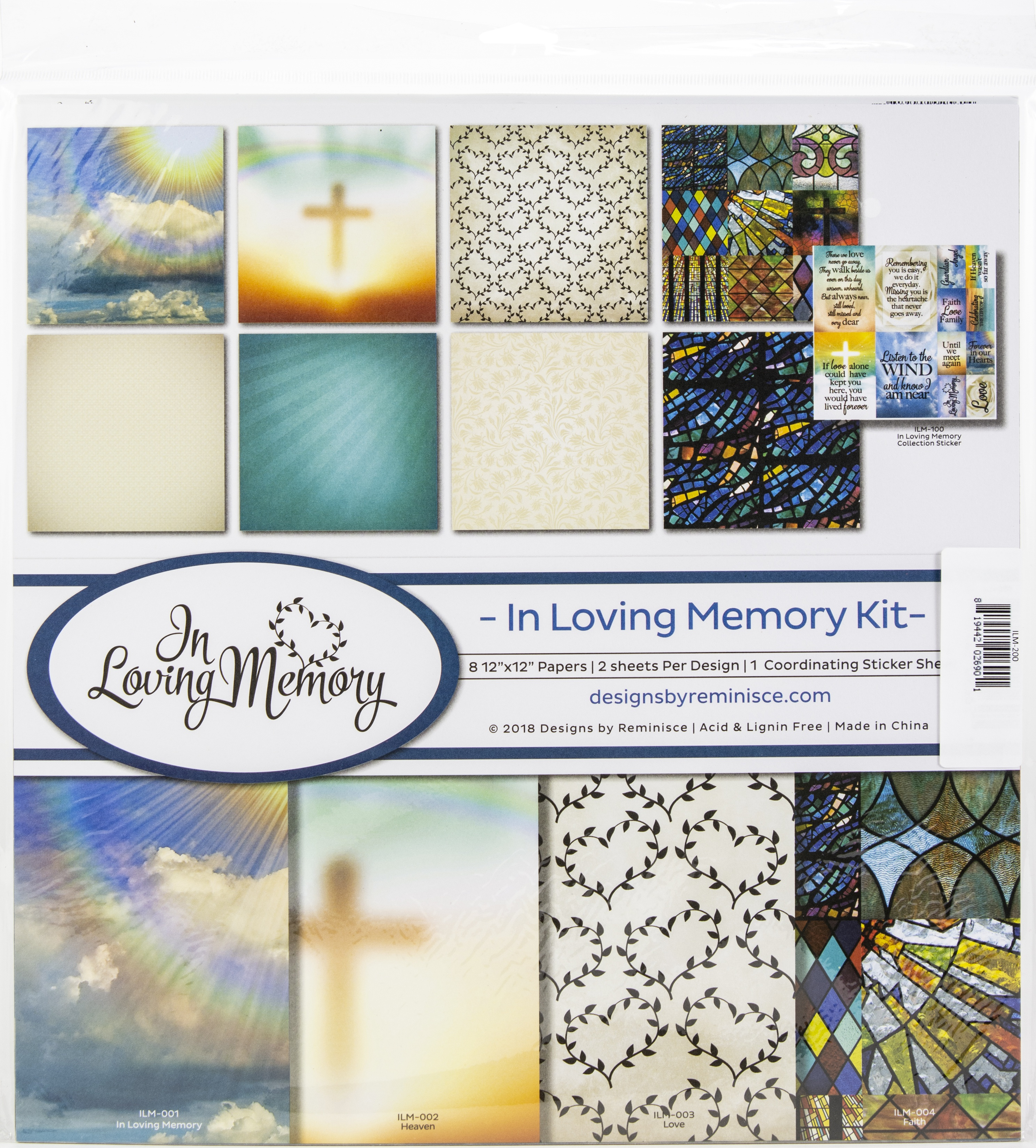 Reminisce Collection Kit 12X12-In Loving Memory