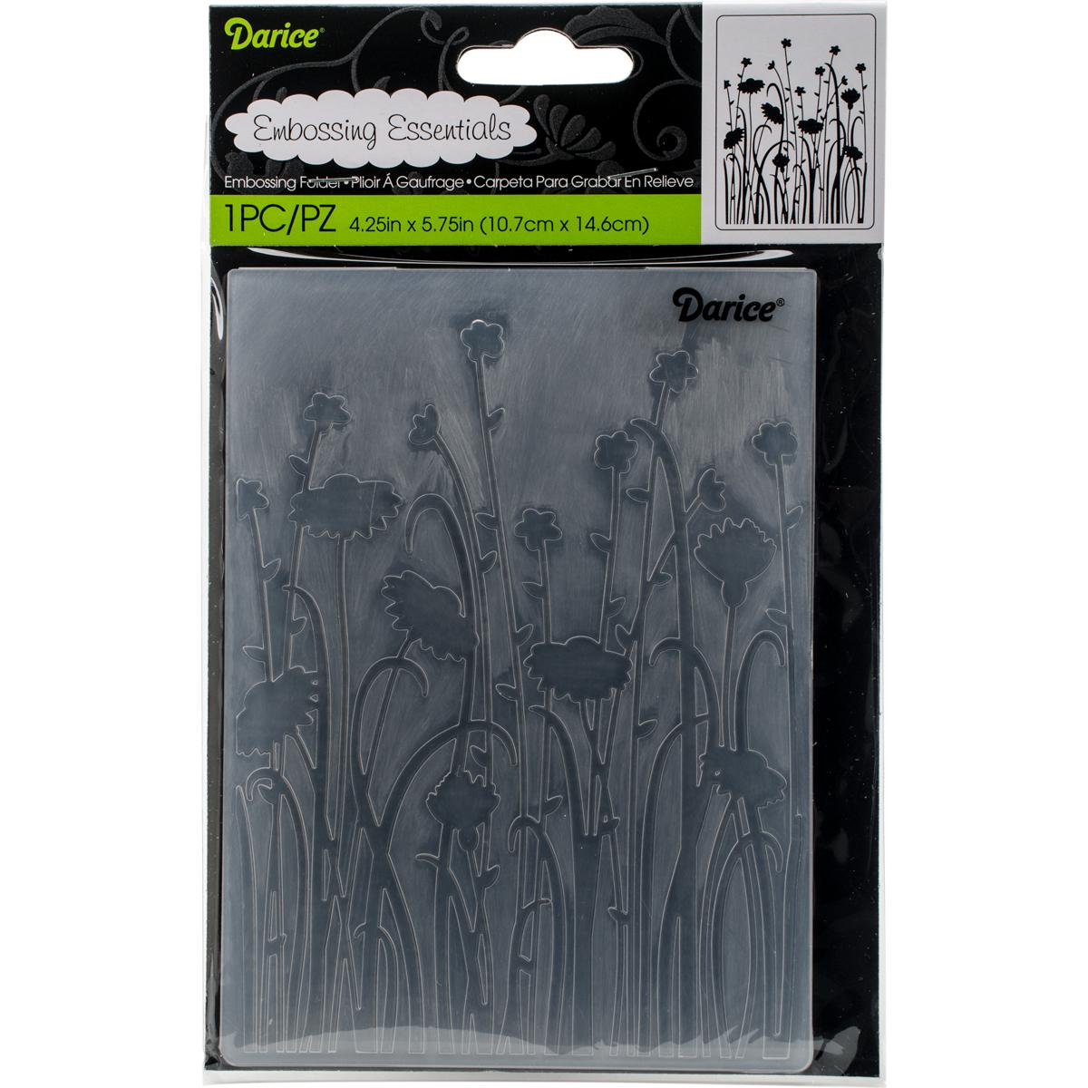 Embossing Folder -Dainty Wildflowers