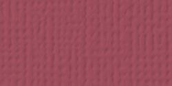 ^AC Cardstock - Pomegranate, 5/pkg - Textured, 12x12