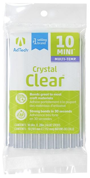 Multi-Temp Mini Glue Sticks-.28X4 10/Pkg