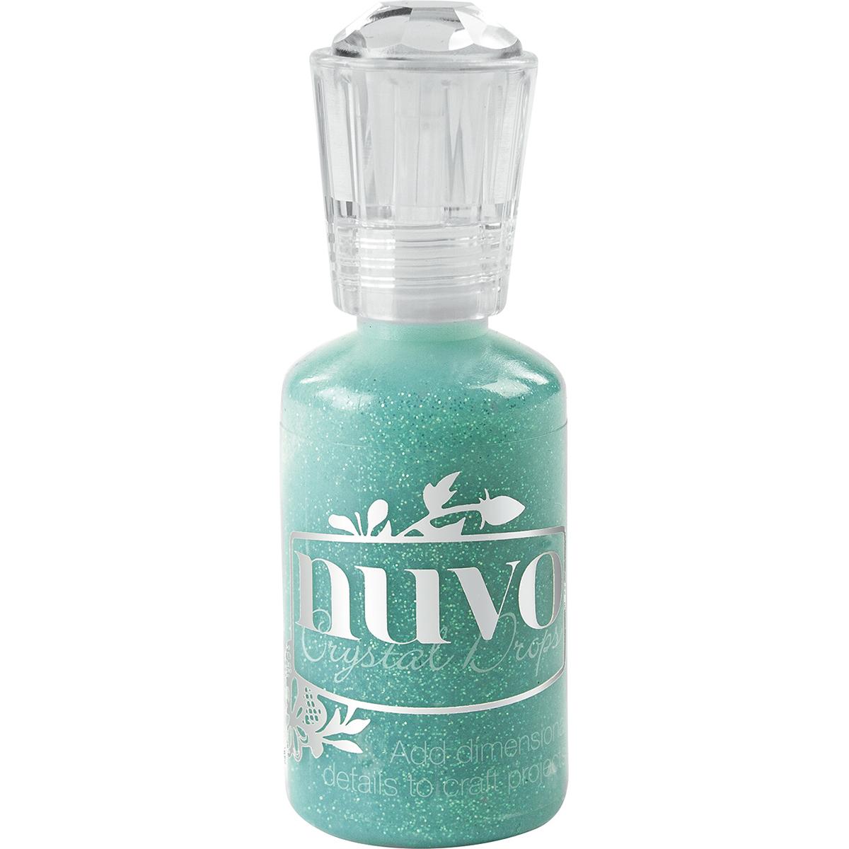 Nuvo Glitter Drops 1.1oz-Aquatic Mist