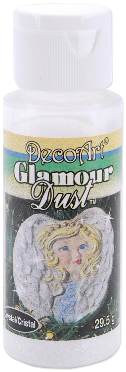 Decoart Glamour Dust Glitter 1.04oz-Crystal