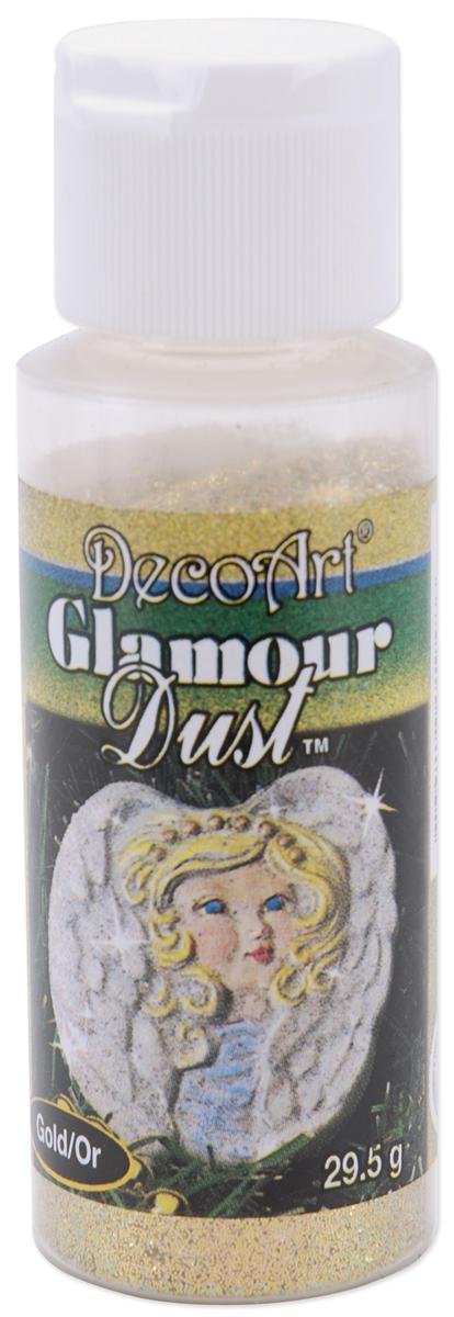 Decoart Glamour Dust Glitter 1.04oz-Gold
