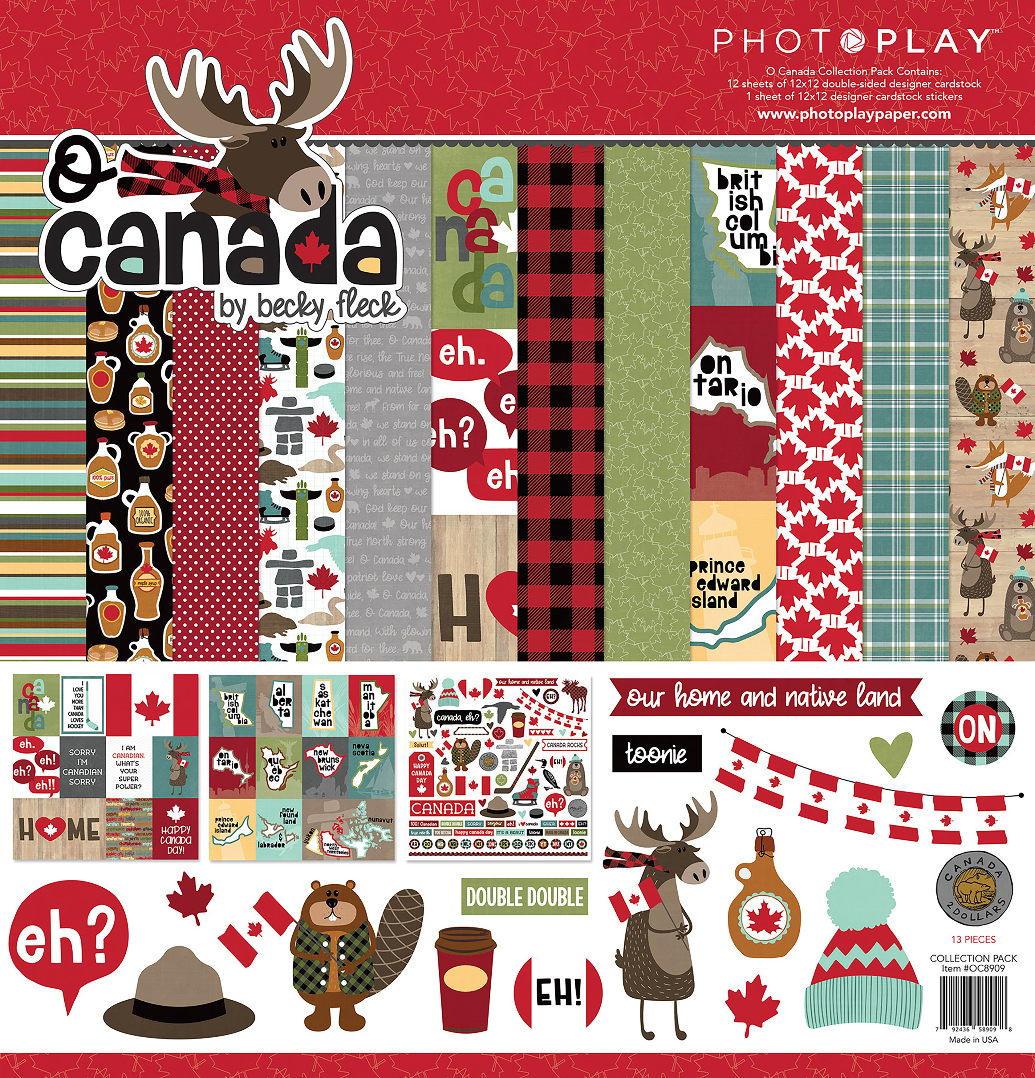^PhotoPlay O Canada Collection Pack