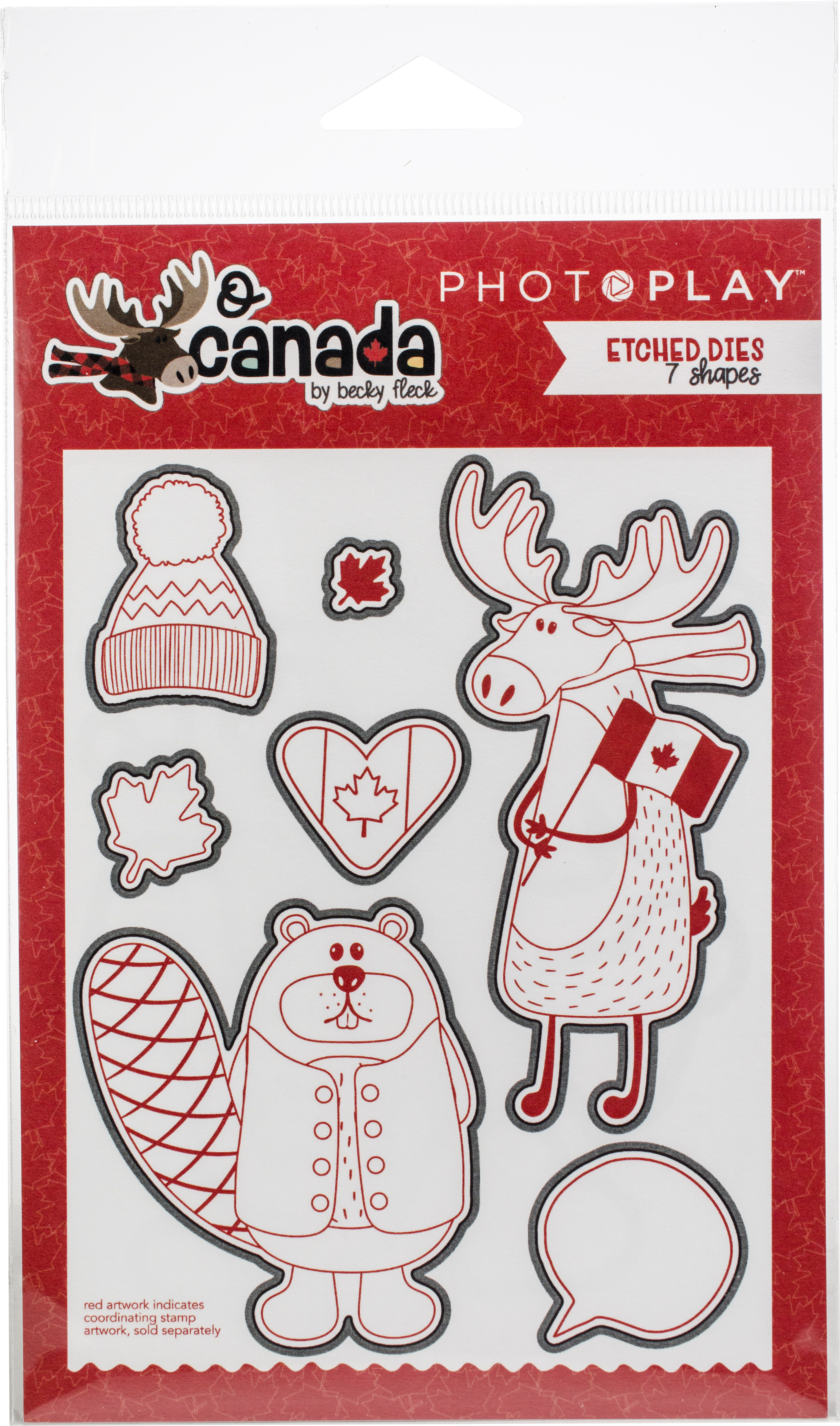 ^PhotoPlay O Canada Die Set