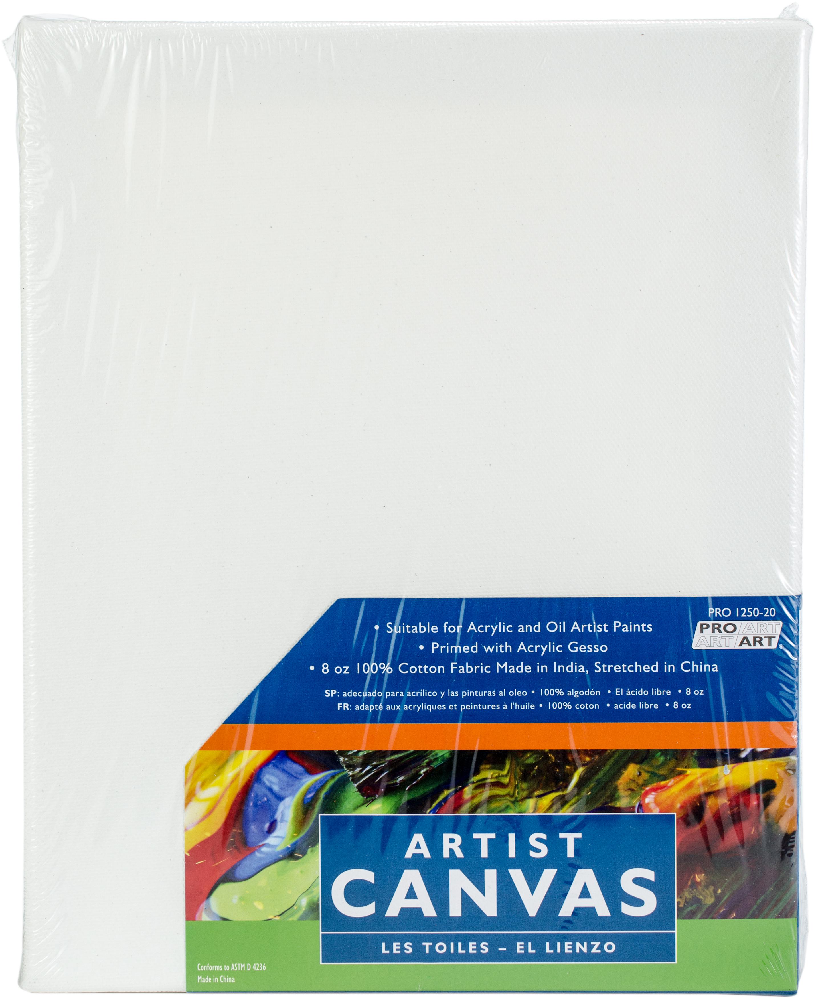Pro Art Stretched Artist Canvas-8X10