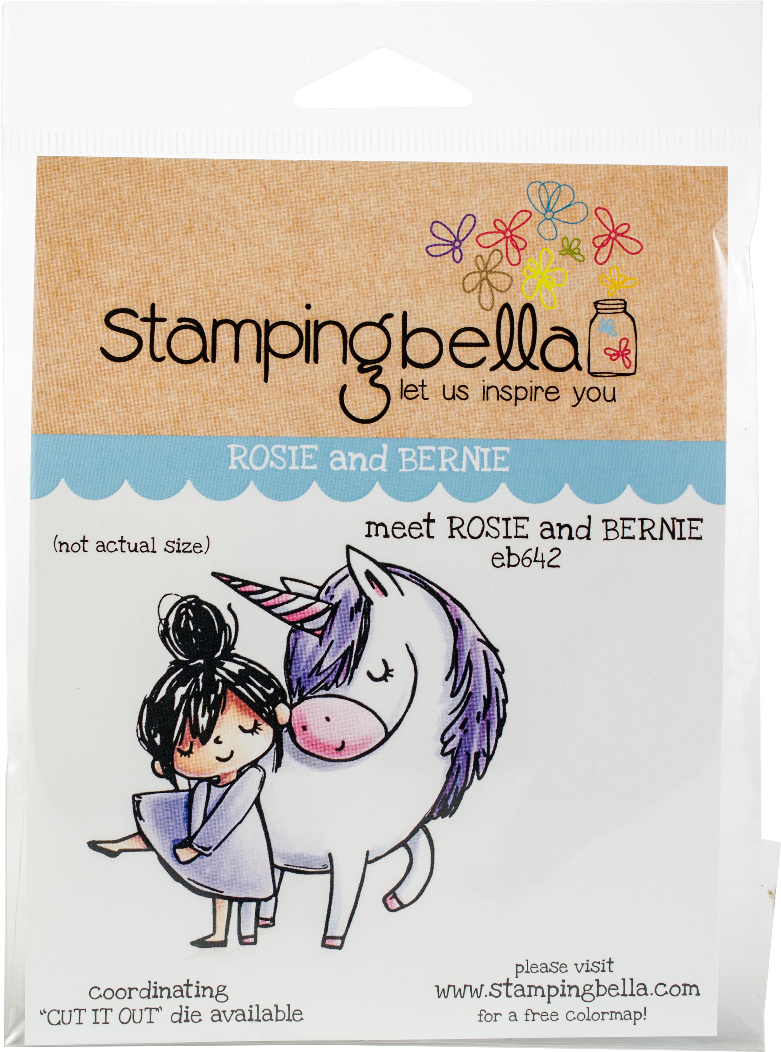 Stamping Bella Cling Stamps-Meet Rosie & Bernie